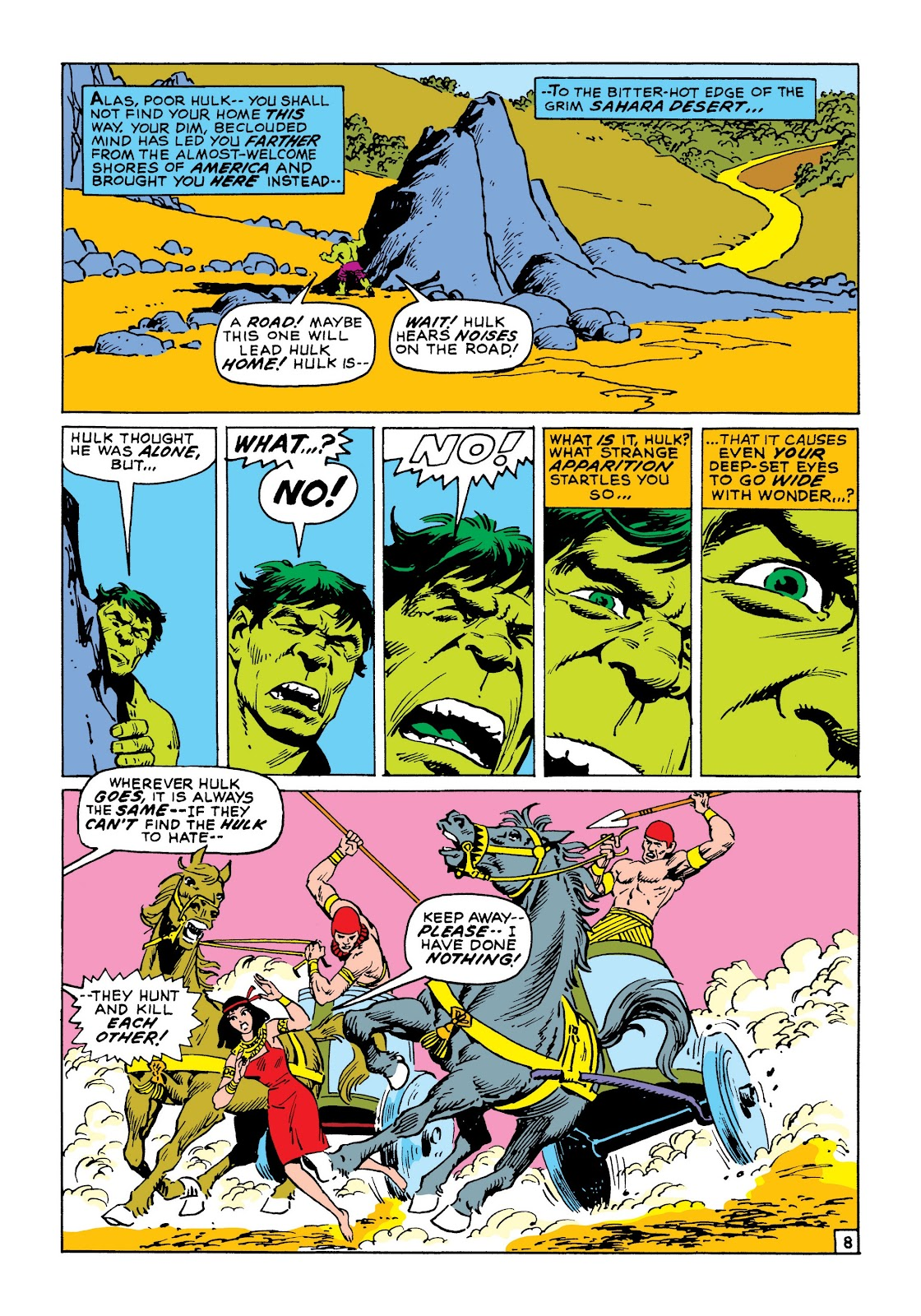 Read online Marvel Masterworks: The Incredible Hulk comic -  Issue # TPB 8 (Part 1) - 15