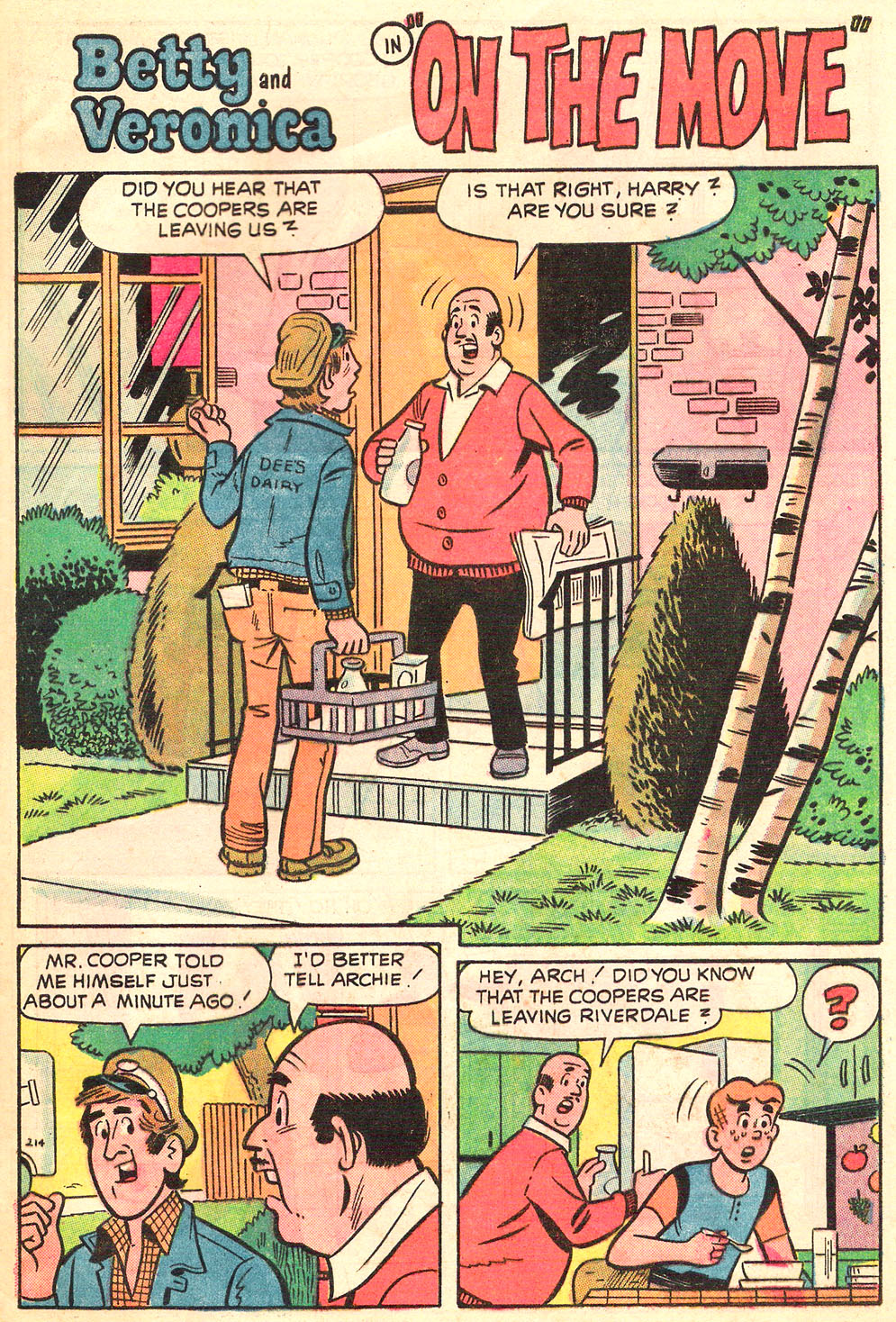 Read online Archie's Girls Betty and Veronica comic -  Issue #216 - 29