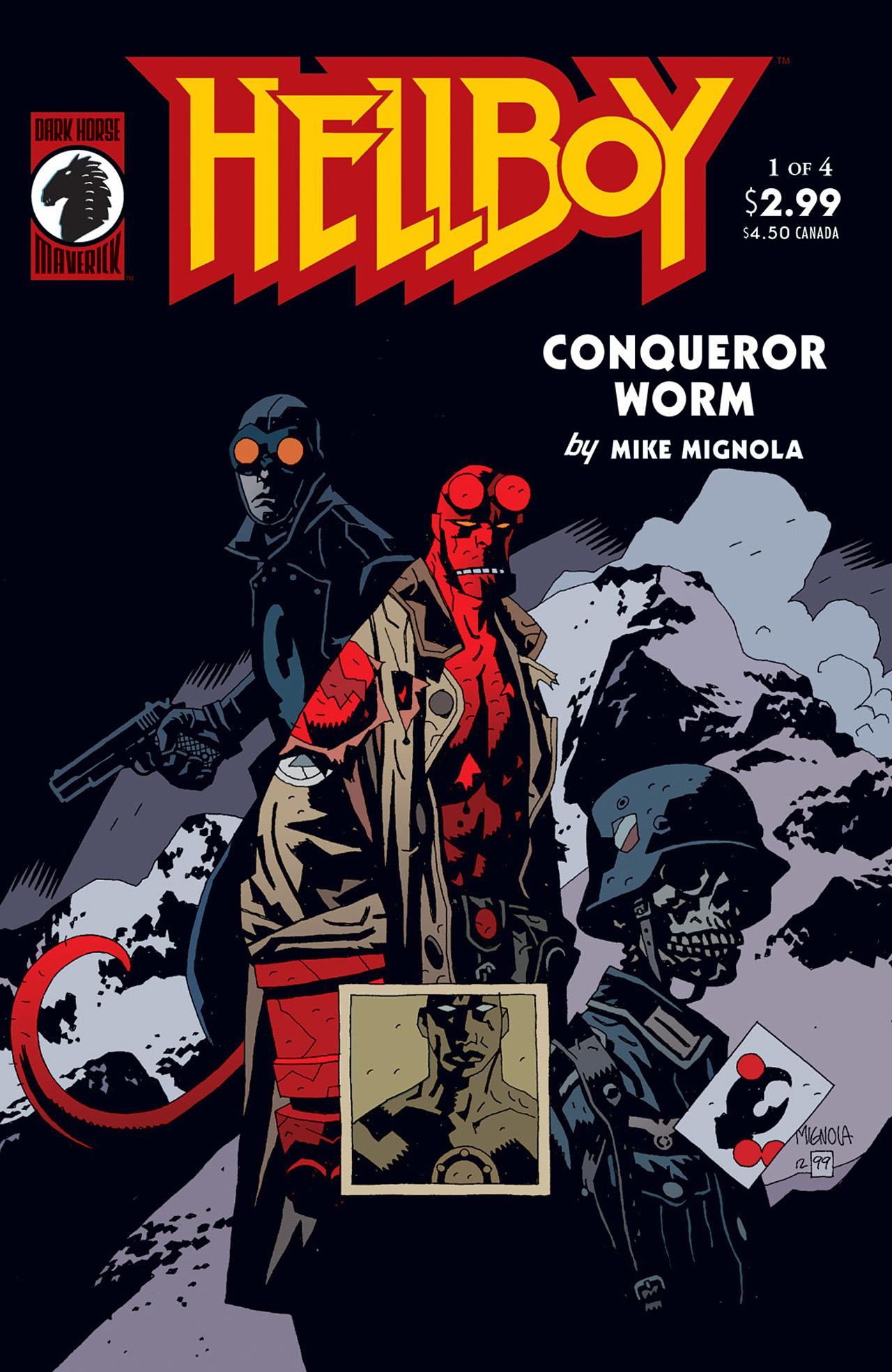 Read online Hellboy: Conqueror Worm comic -  Issue #1 - 1
