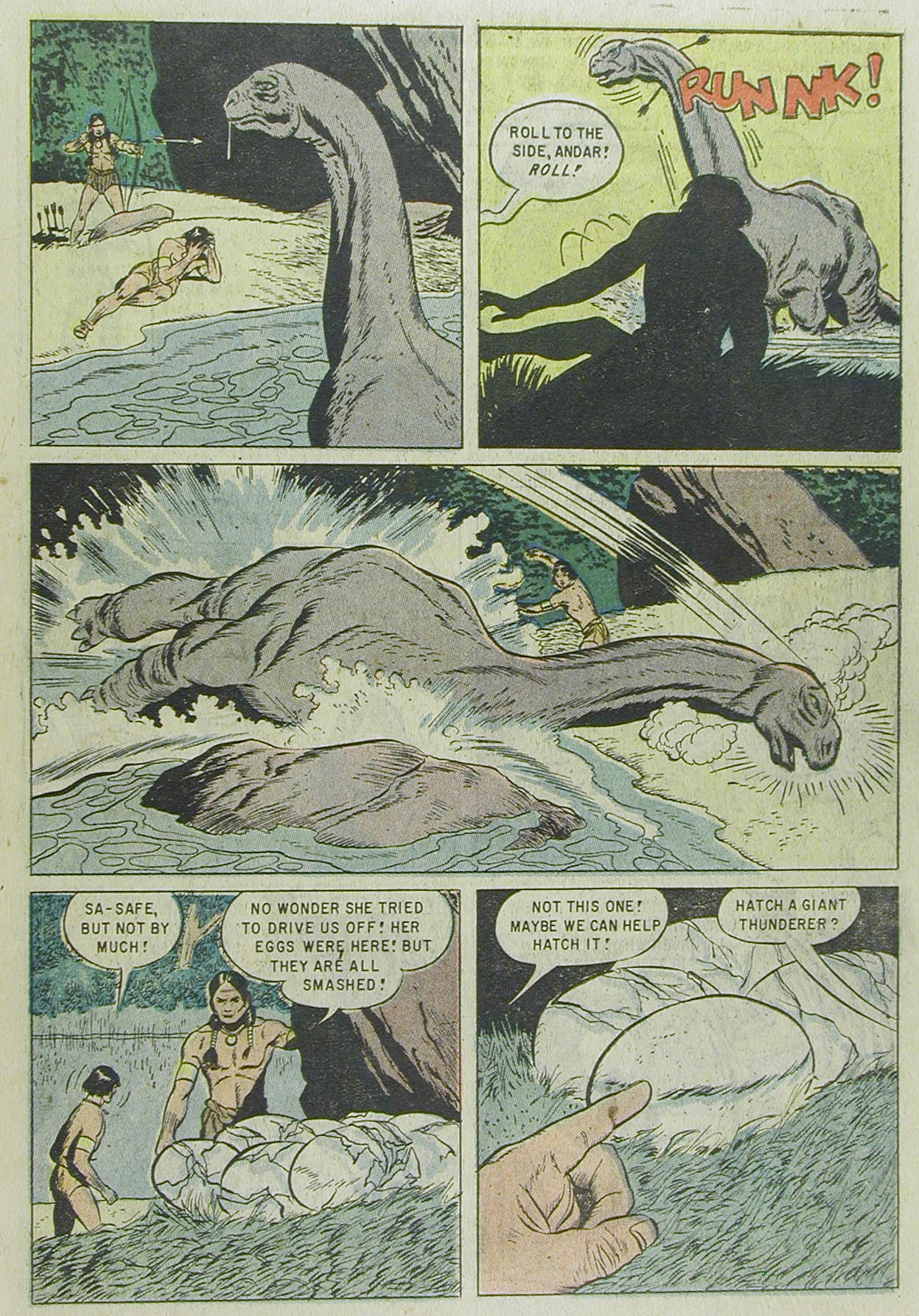 Read online Turok, Son of Stone comic -  Issue #13 - 23