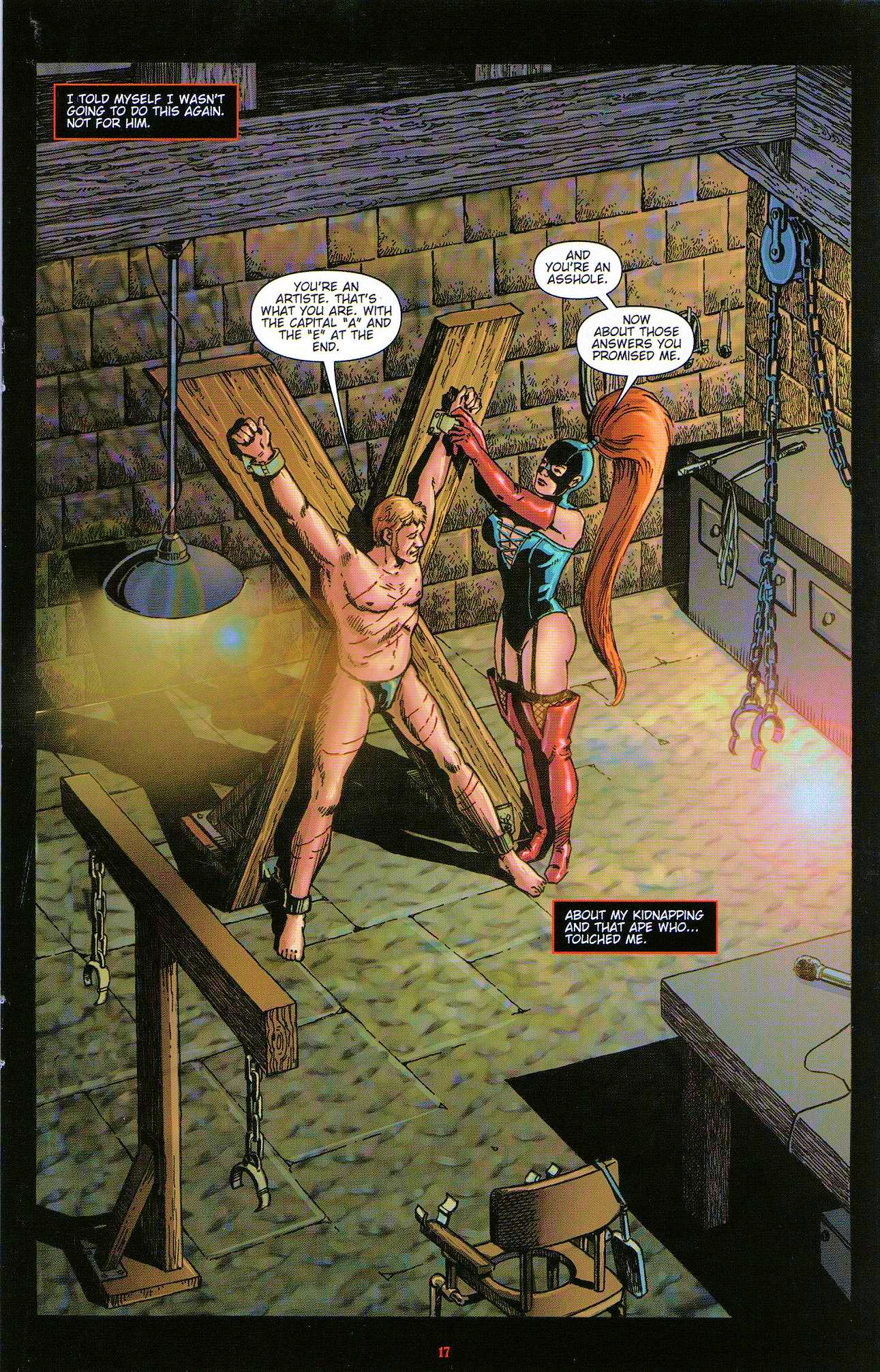 Read online Dominatrix comic -  Issue #3 - 19
