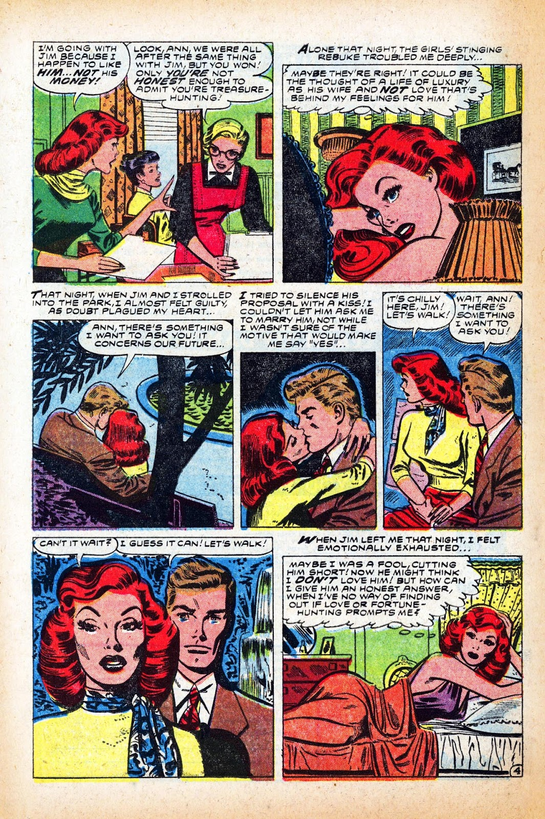 Love Romances (1949) issue 47 - Page 14