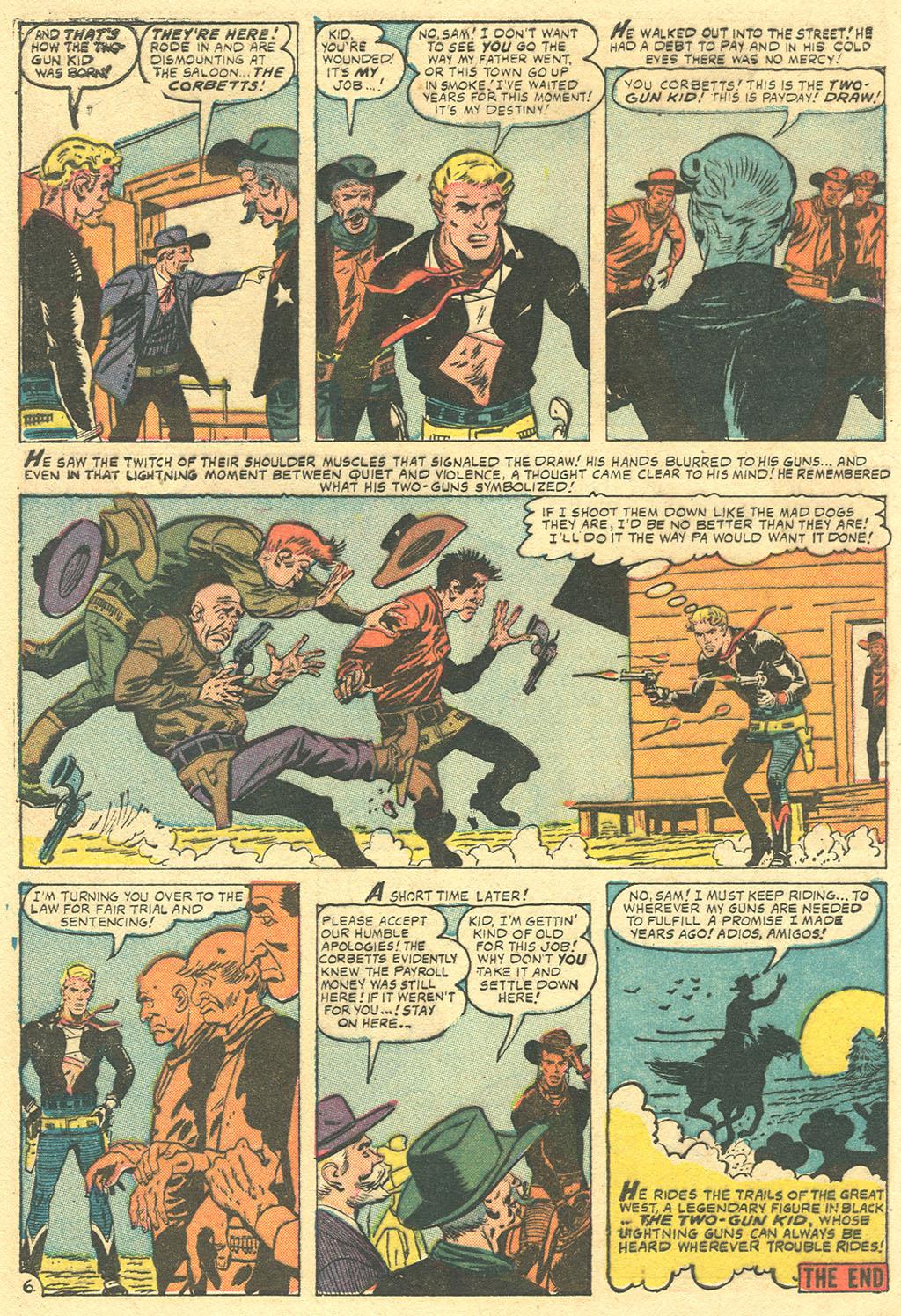 Read online Two-Gun Kid comic -  Issue #36 - 8