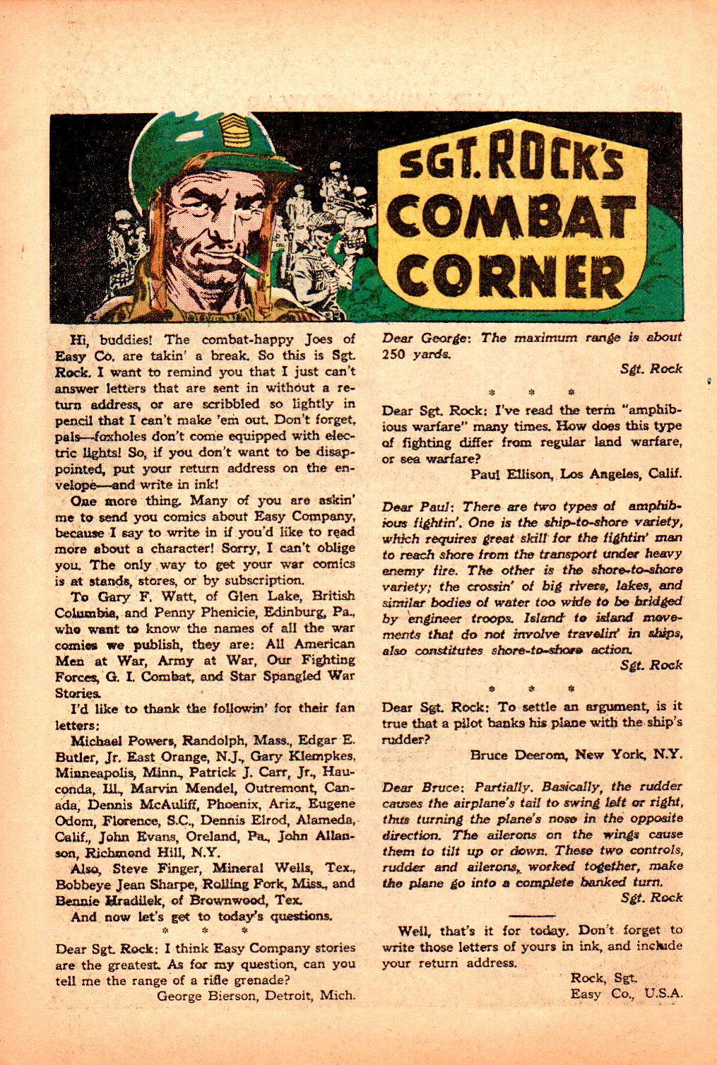 Our Army at War (1952) issue 101 - Page 22