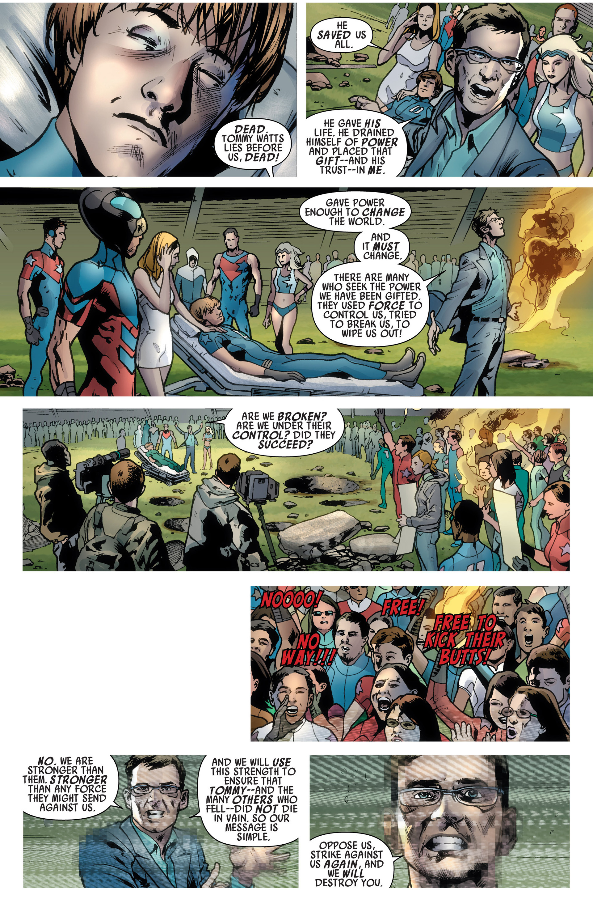 Read online America's Got Powers comic -  Issue #6 - 6