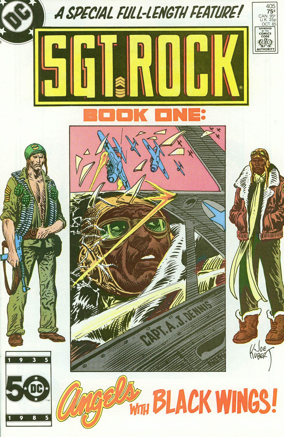 Read online Sgt. Rock comic -  Issue #405 - 1