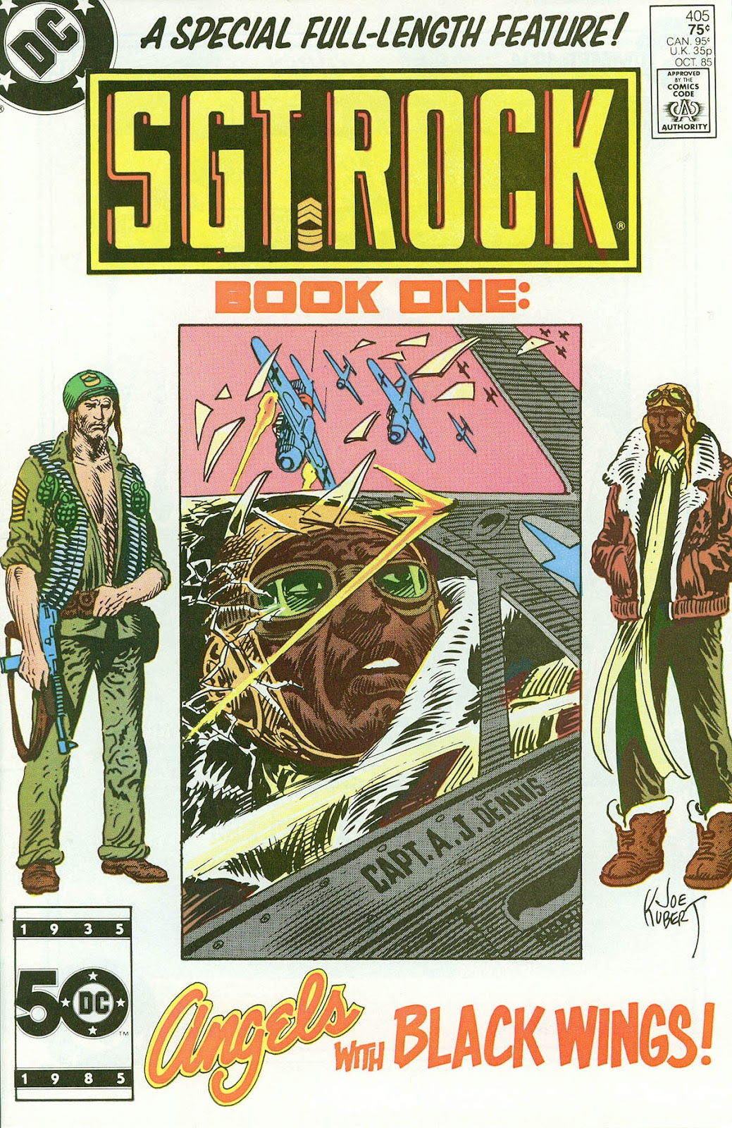 Sgt. Rock issue 405 - Page 1