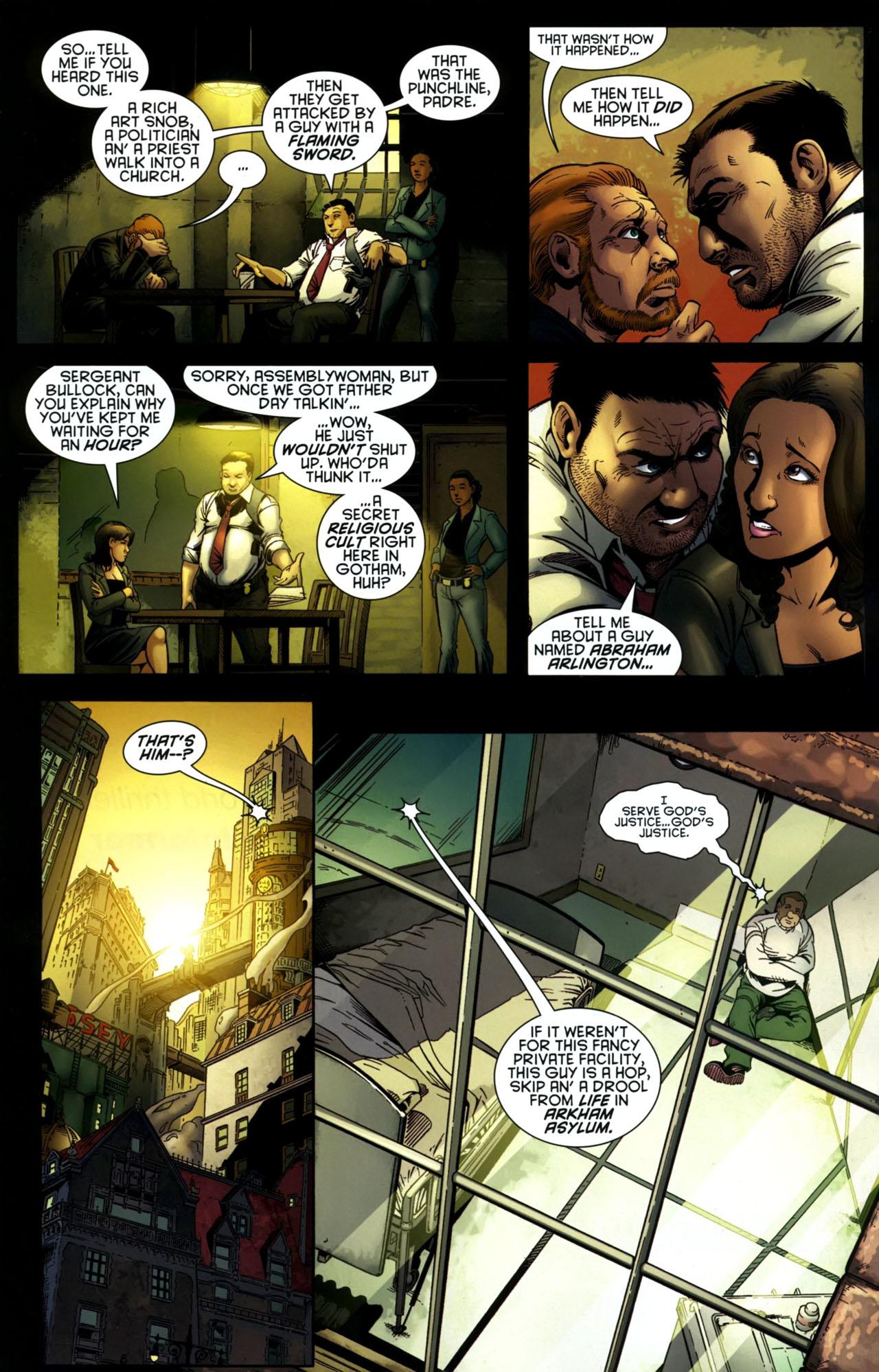 Read online Gotham Gazette comic -  Issue # Issue Batman Alive - 6