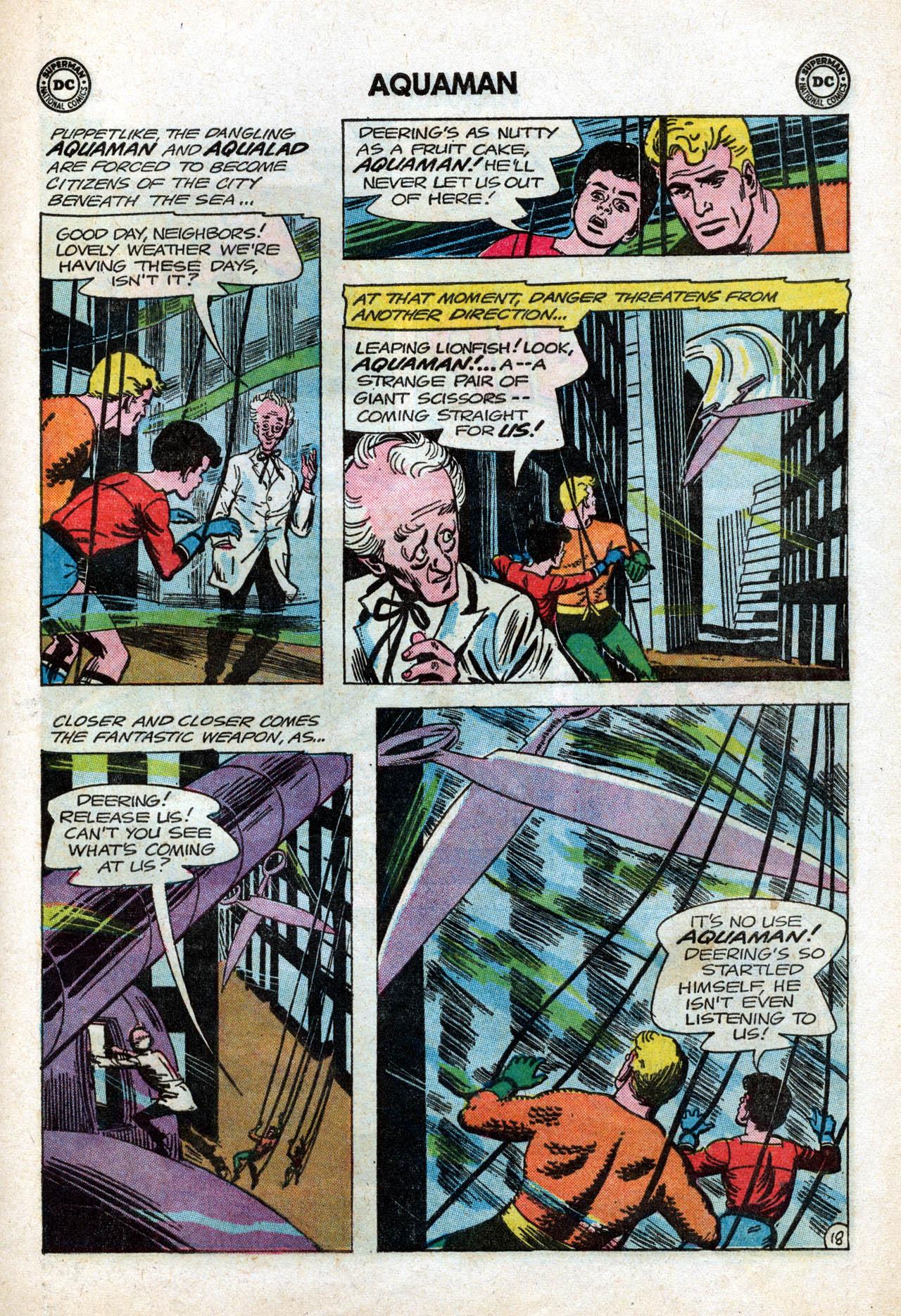 Read online Aquaman (1962) comic -  Issue #15 - 25