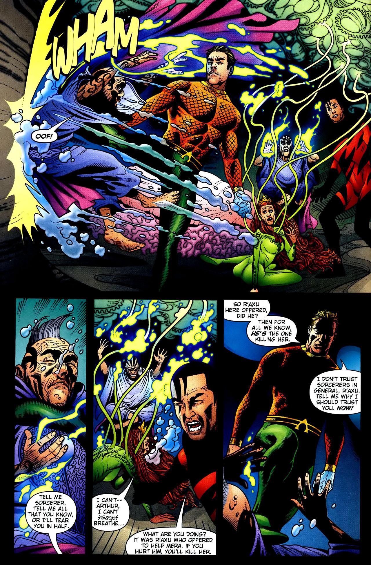 Read online Aquaman (2003) comic -  Issue #34 - 7
