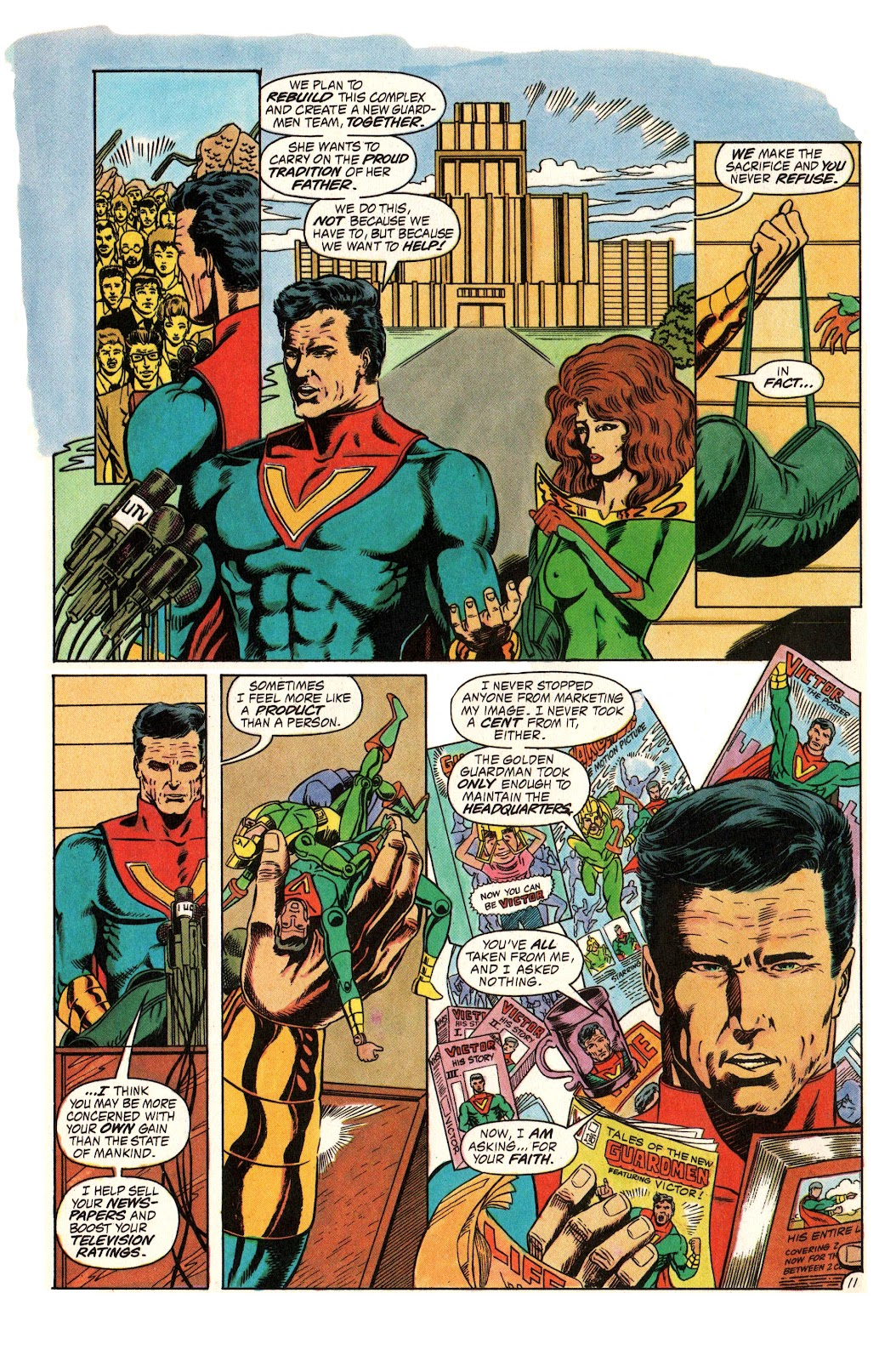 Read online Hero Alliance: End of Golden Age comic -  Issue #3 - 14