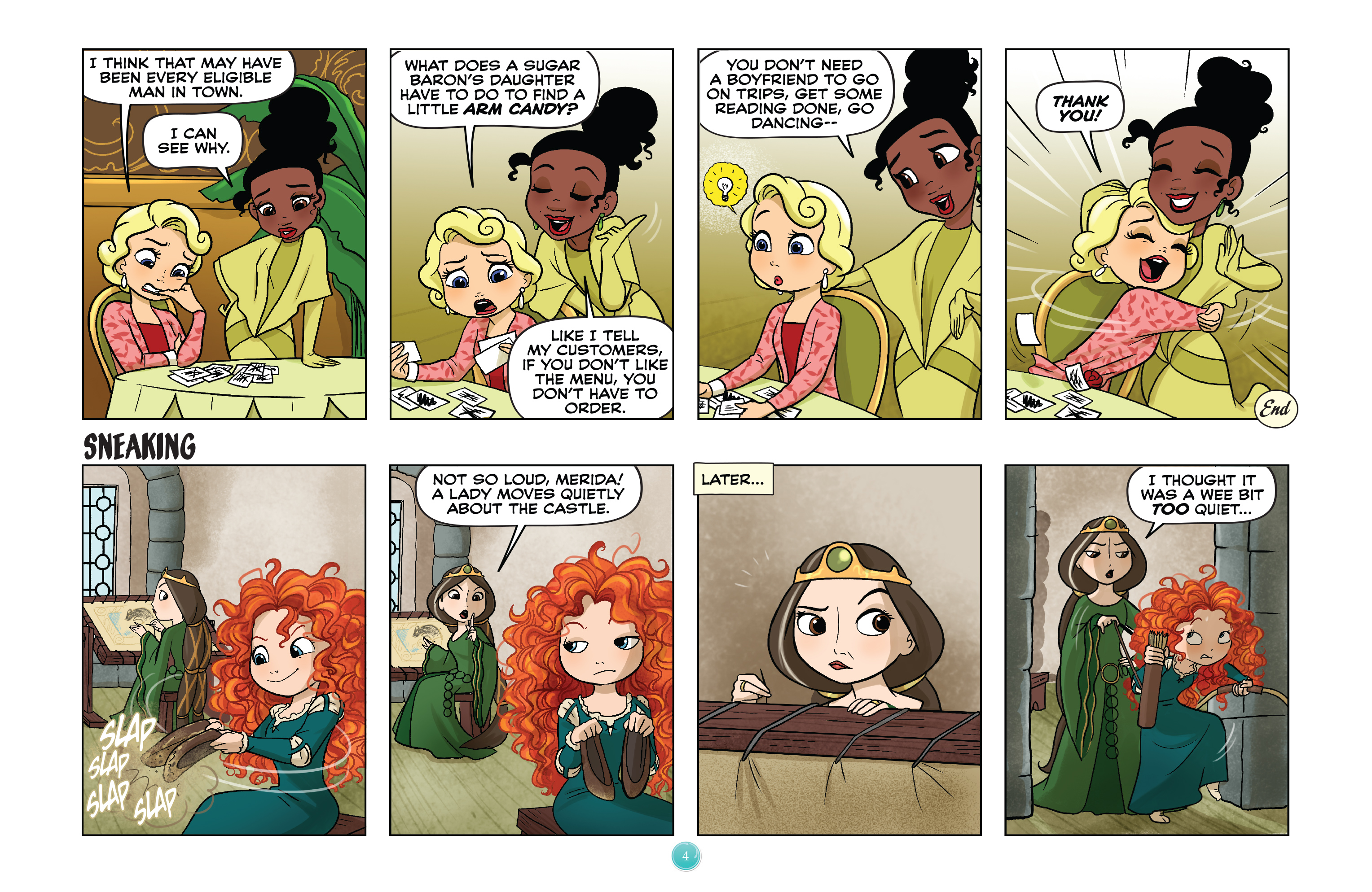 Read online Disney Princess comic -  Issue #4 - 7