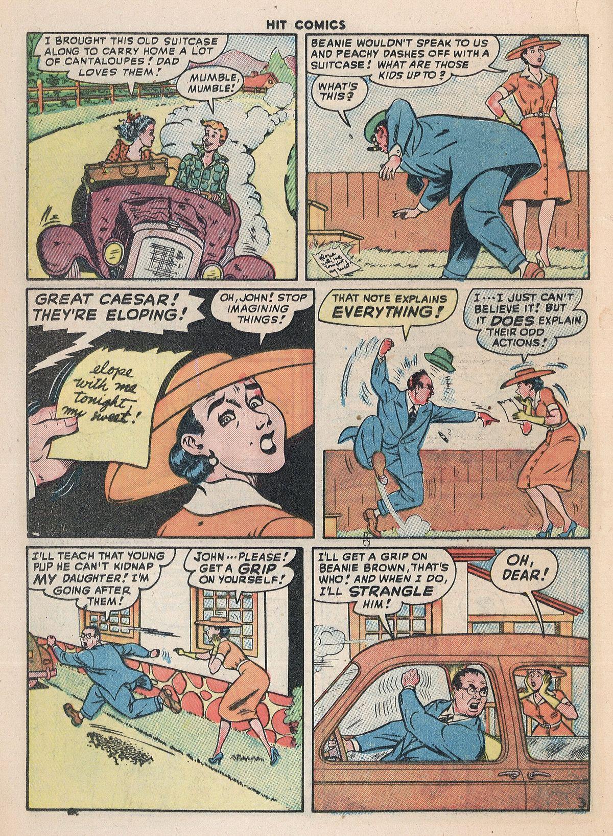 Read online Hit Comics comic -  Issue #55 - 28