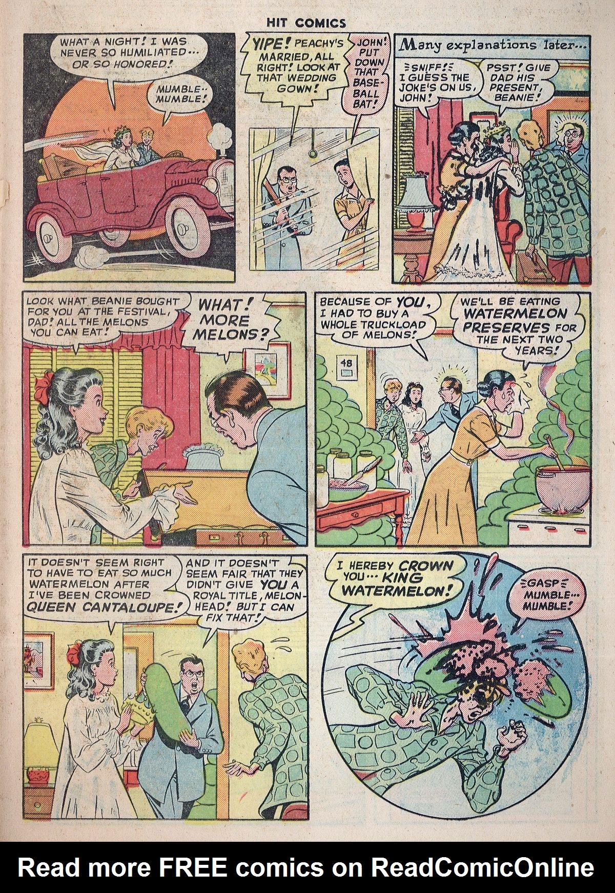Read online Hit Comics comic -  Issue #55 - 31