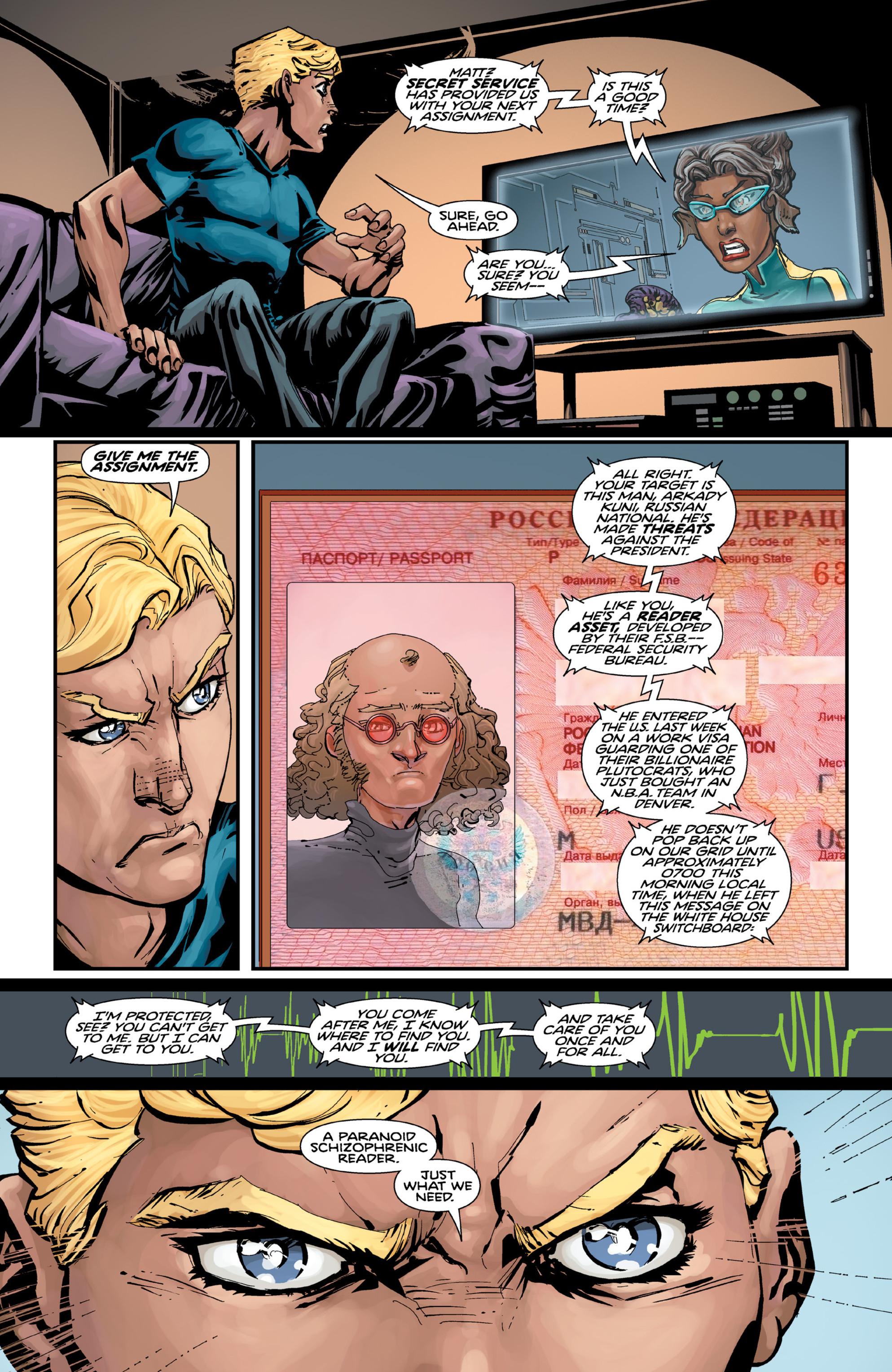 Read online Brain Boy:  The Men from G.E.S.T.A.L.T. comic -  Issue # TPB - 22