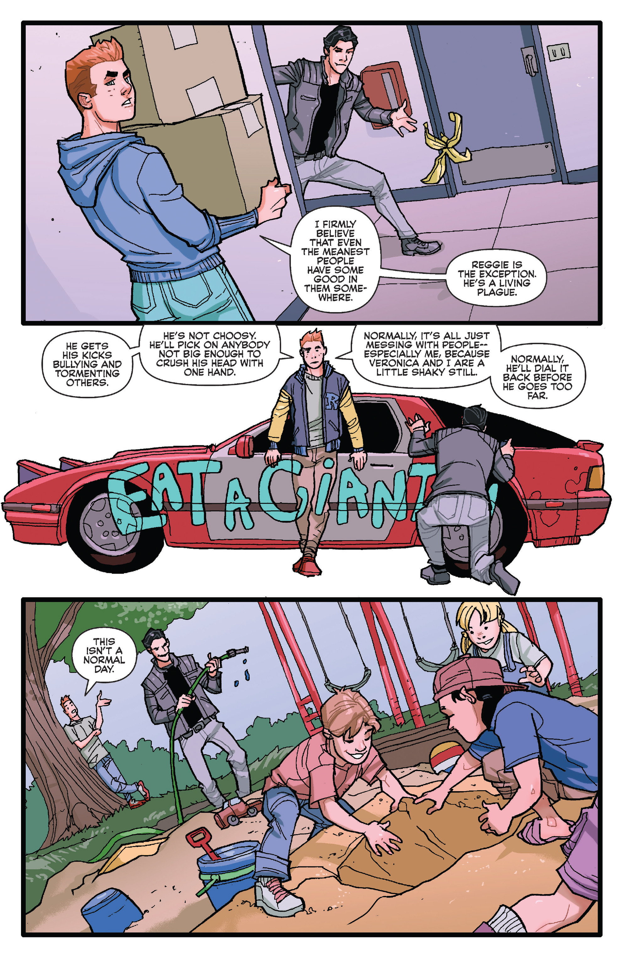 Read online Archie (2015) comic -  Issue #20 - 4