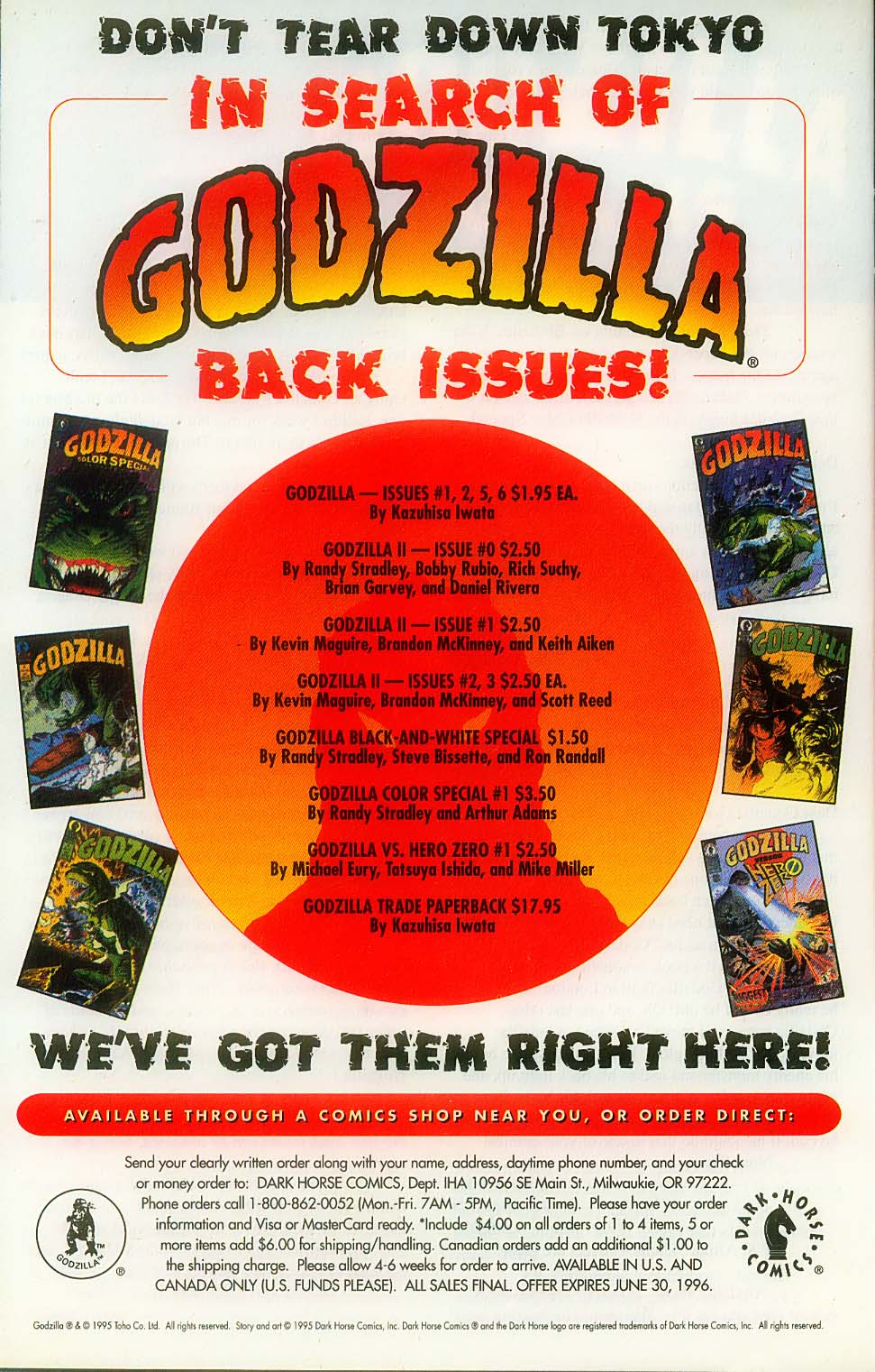 Godzilla (1995) Issue #10 #11 - English 30