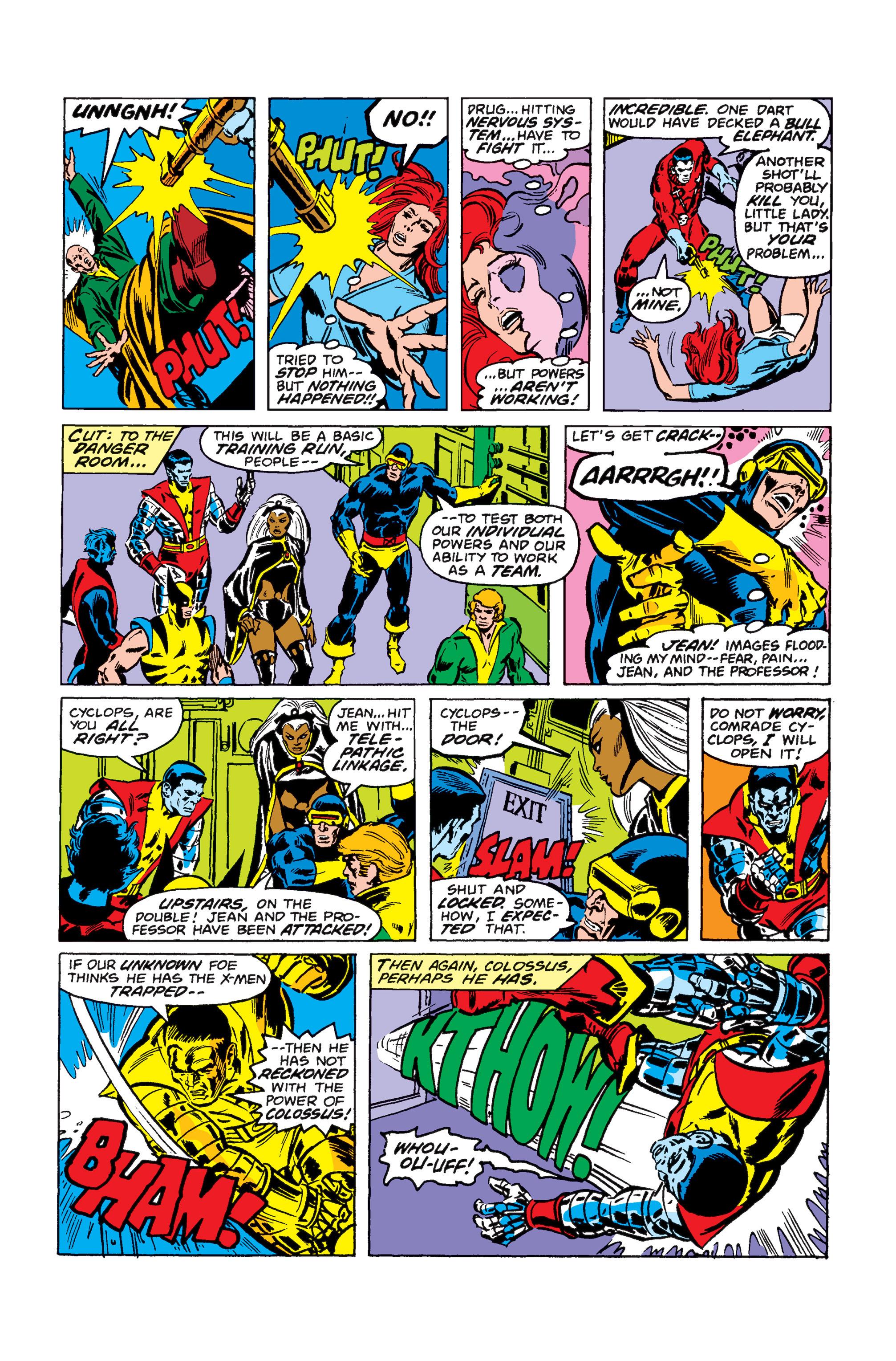 Read online Uncanny X-Men (1963) comic -  Issue #110 - 8