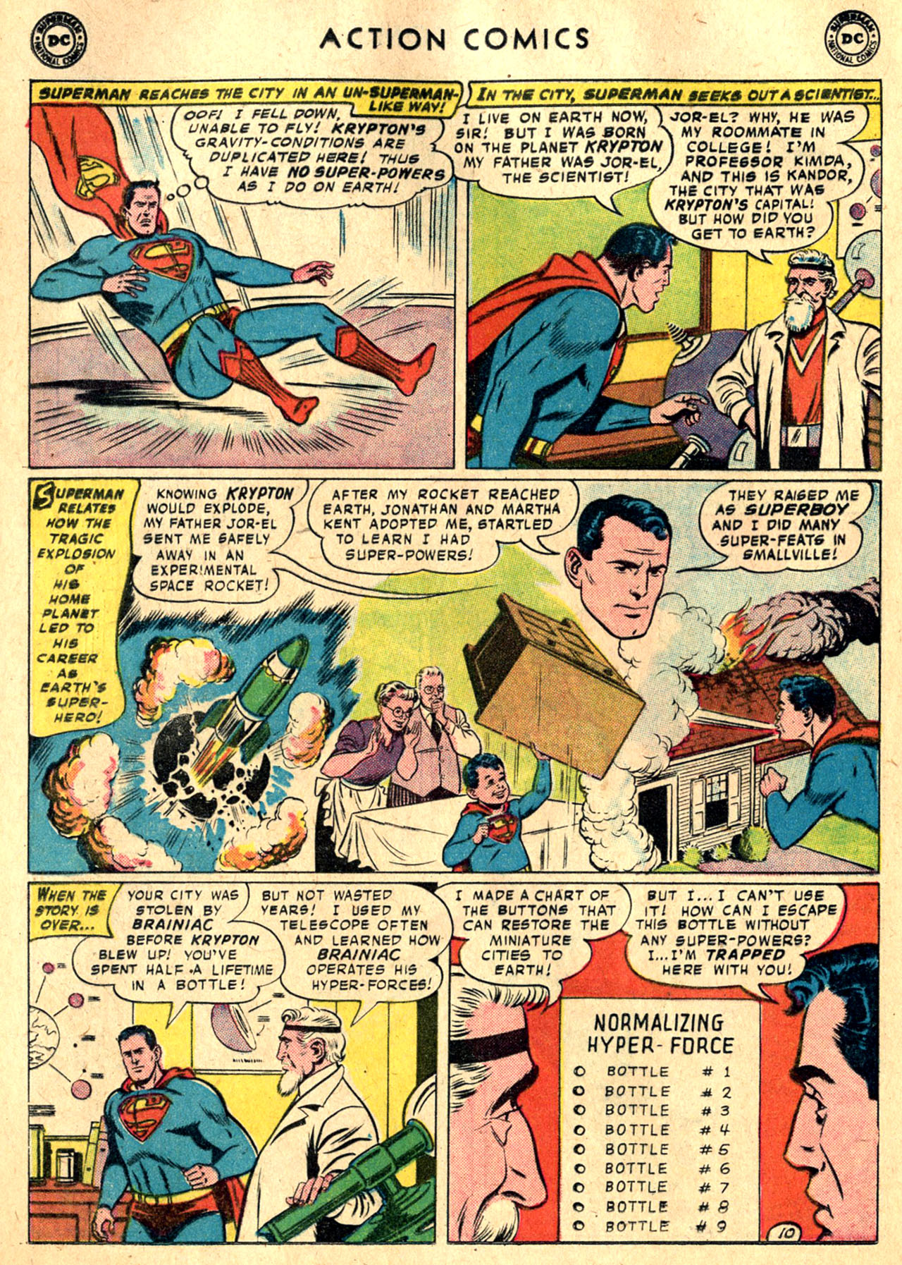 Read online Action Comics (1938) comic -  Issue #242 - 12