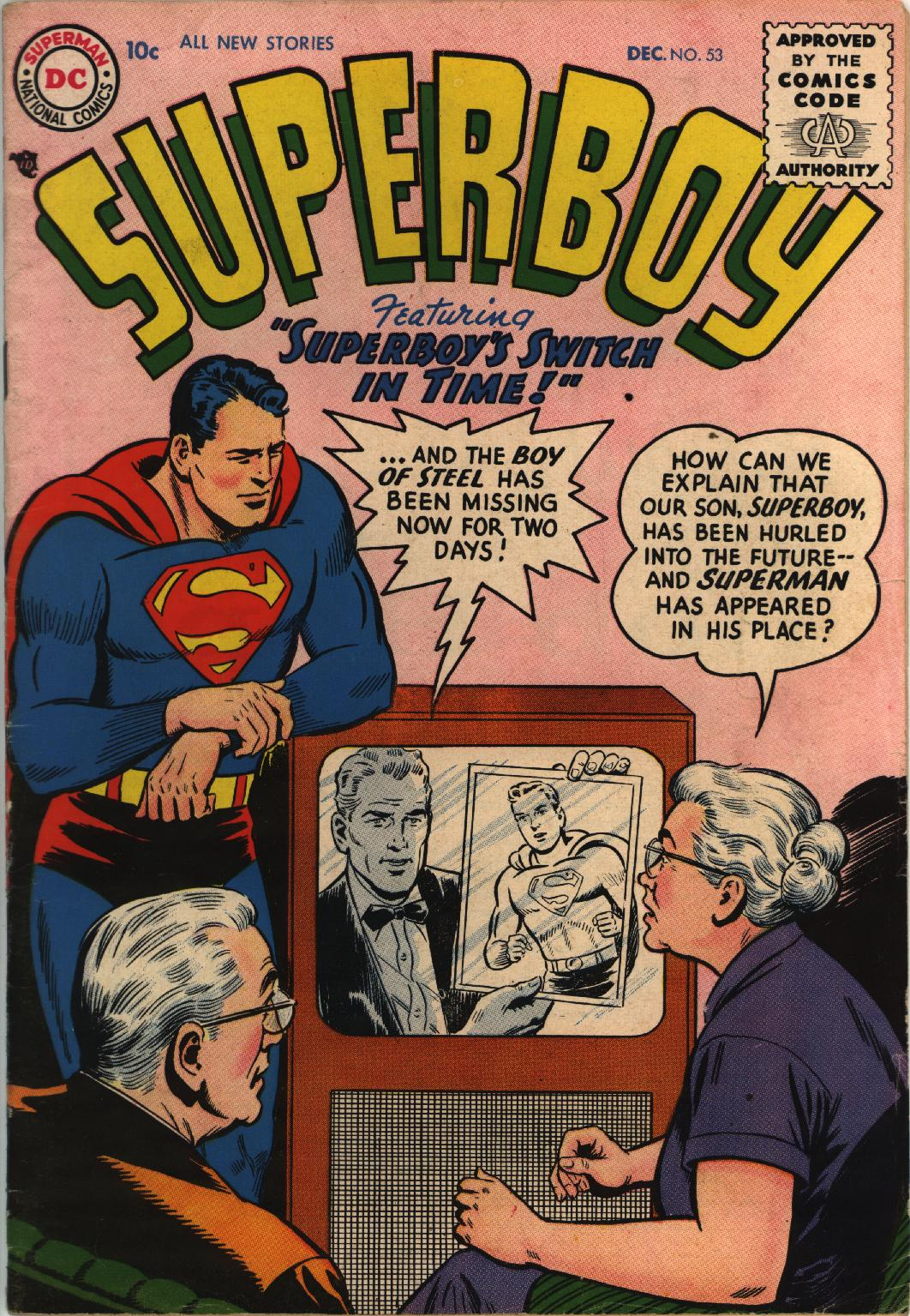 Superboy (1949) issue 53 - Page 1