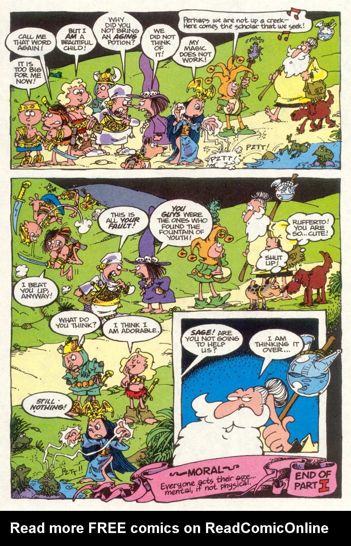 Read online Sergio Aragonés Groo the Wanderer comic -  Issue #92 - 23