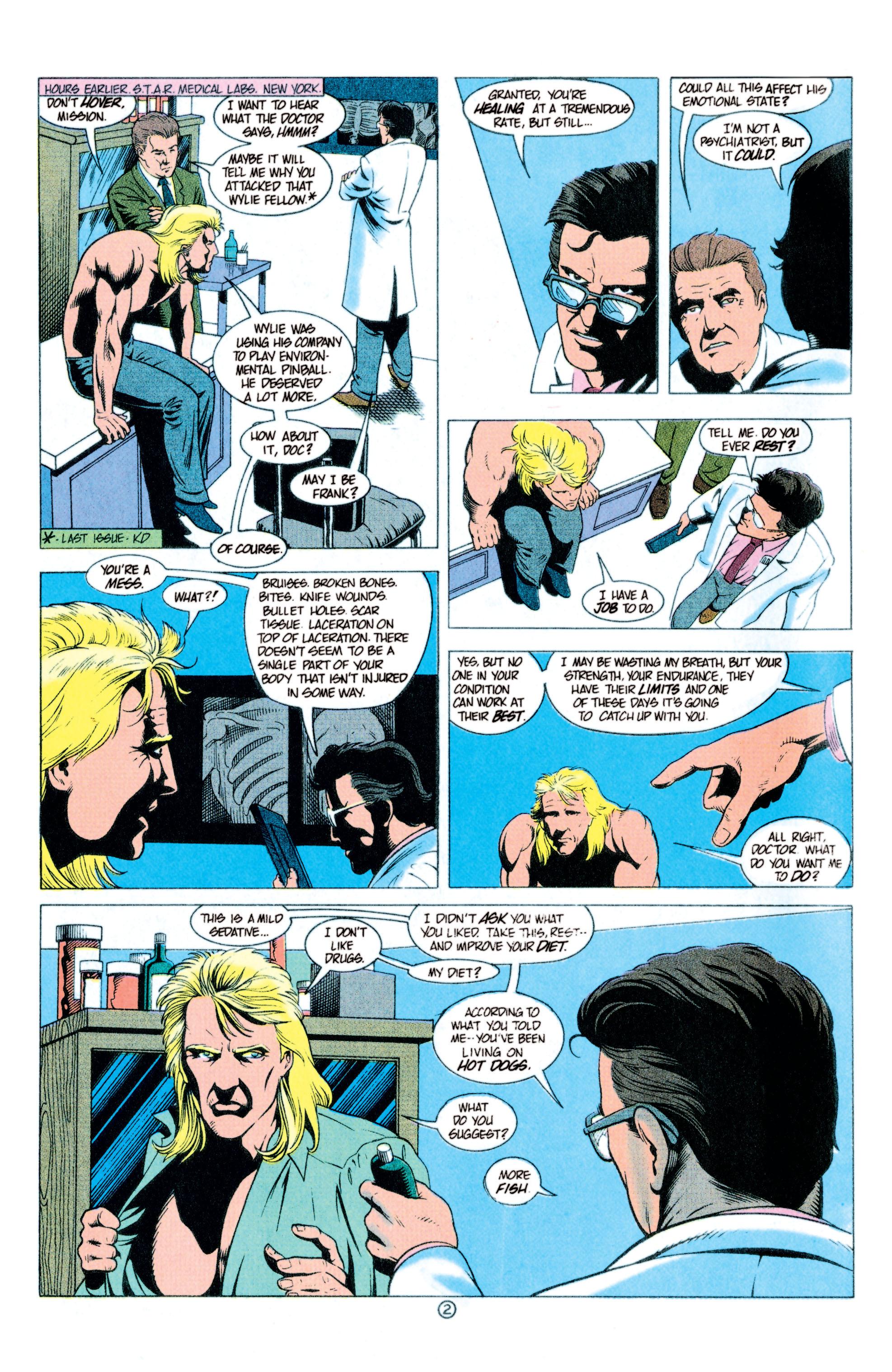 Read online Aquaman (1991) comic -  Issue #11 - 3