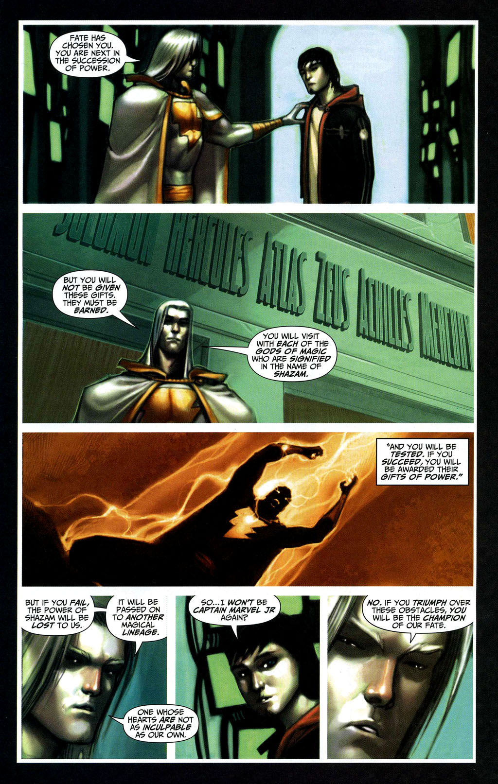 Read online Trials of Shazam comic -  Issue #2 - 16