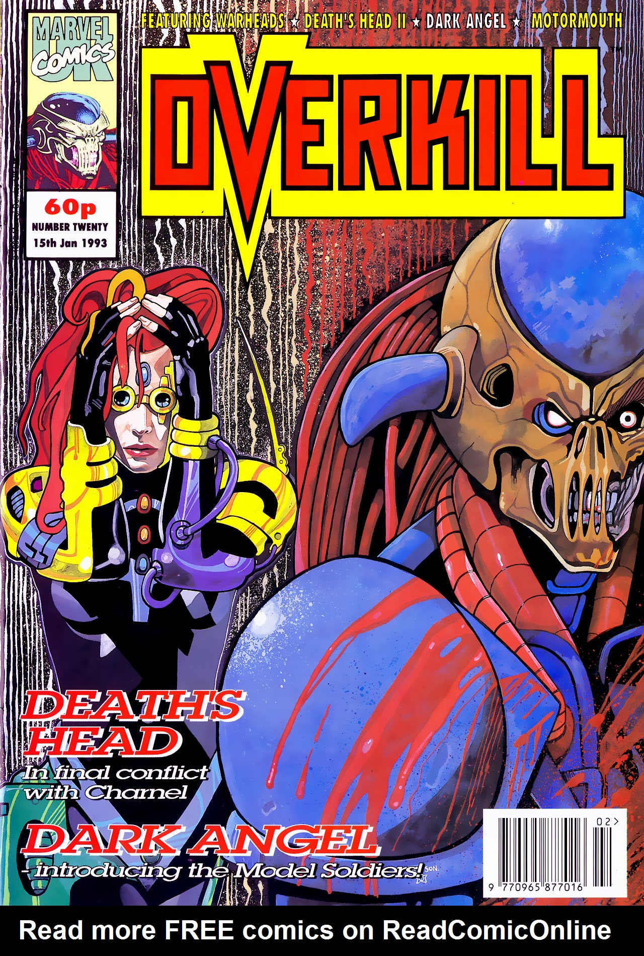 Read online Overkill comic -  Issue #20 - 1