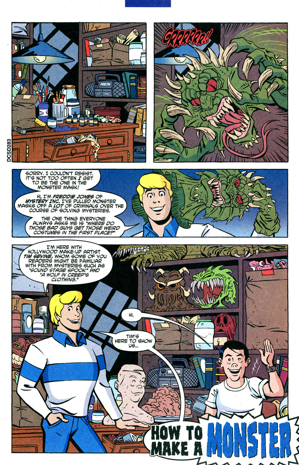 Read online Scooby-Doo (1997) comic -  Issue #91 - 17