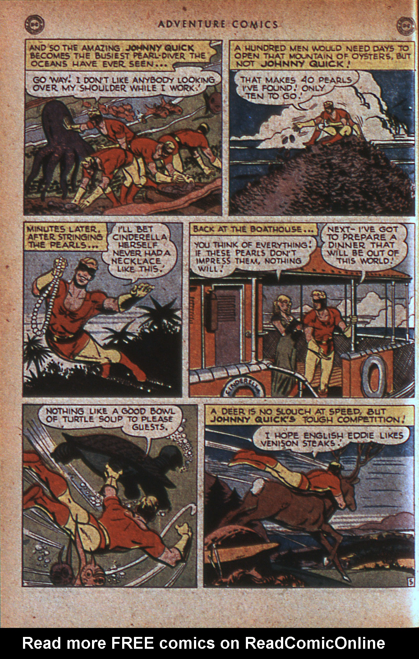 Read online Adventure Comics (1938) comic -  Issue #124 - 45
