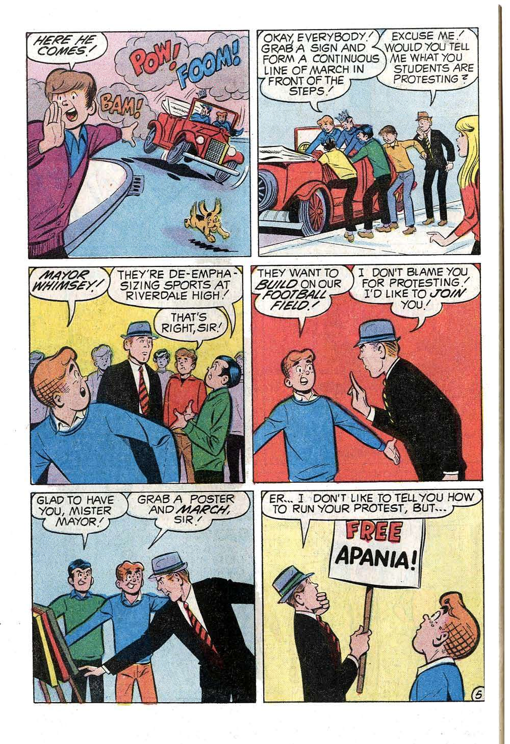 Read online Archie (1960) comic -  Issue #202 - 32