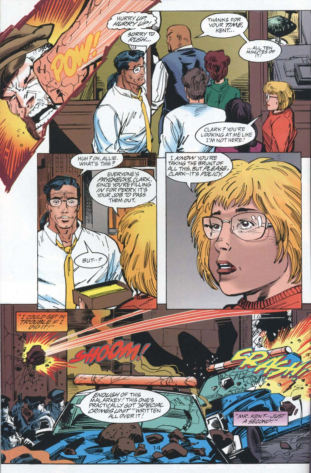 Read online Adventures of Superman (1987) comic -  Issue #539 - 15