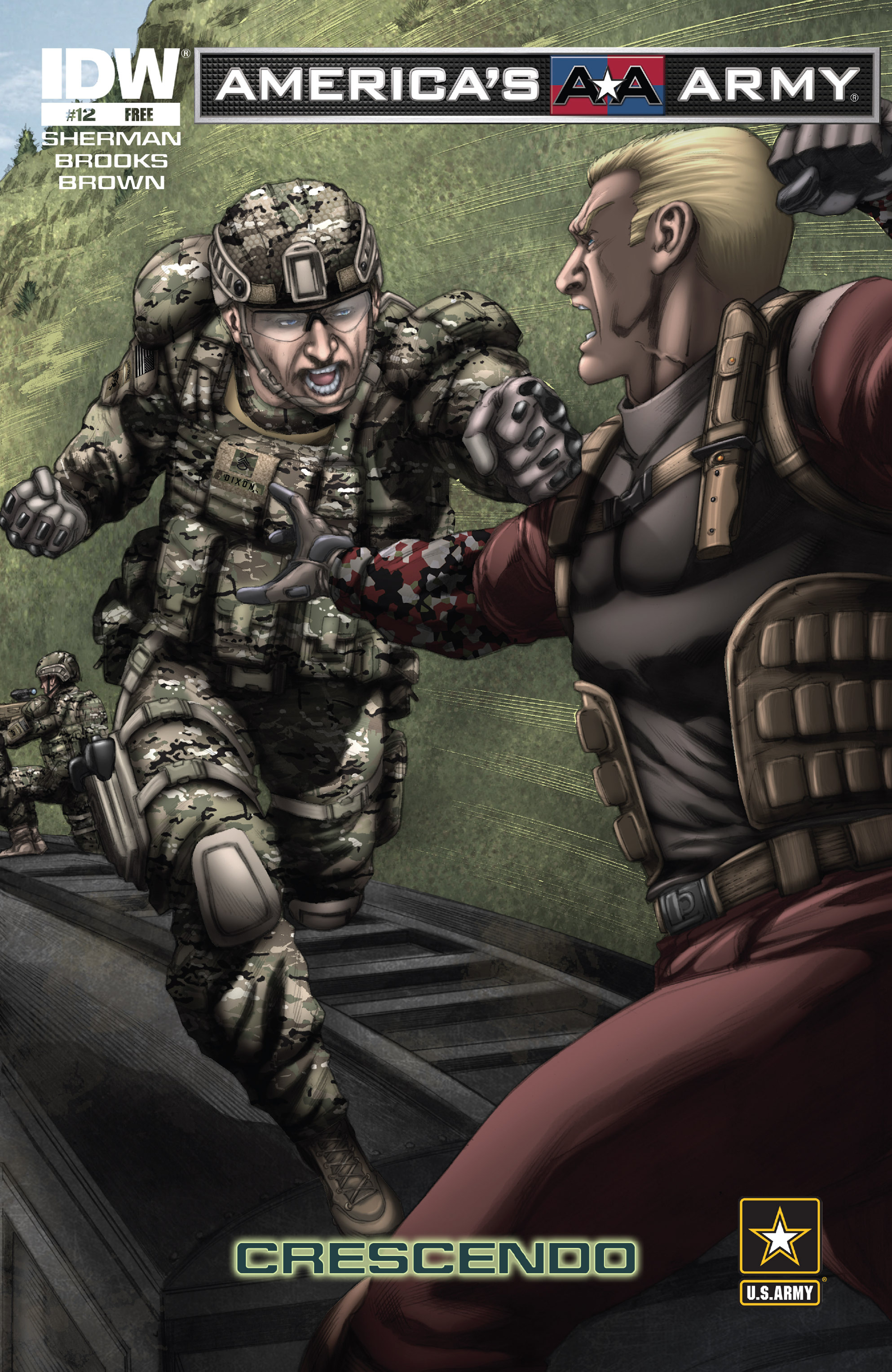 Read online America's Army comic -  Issue #12 - 1