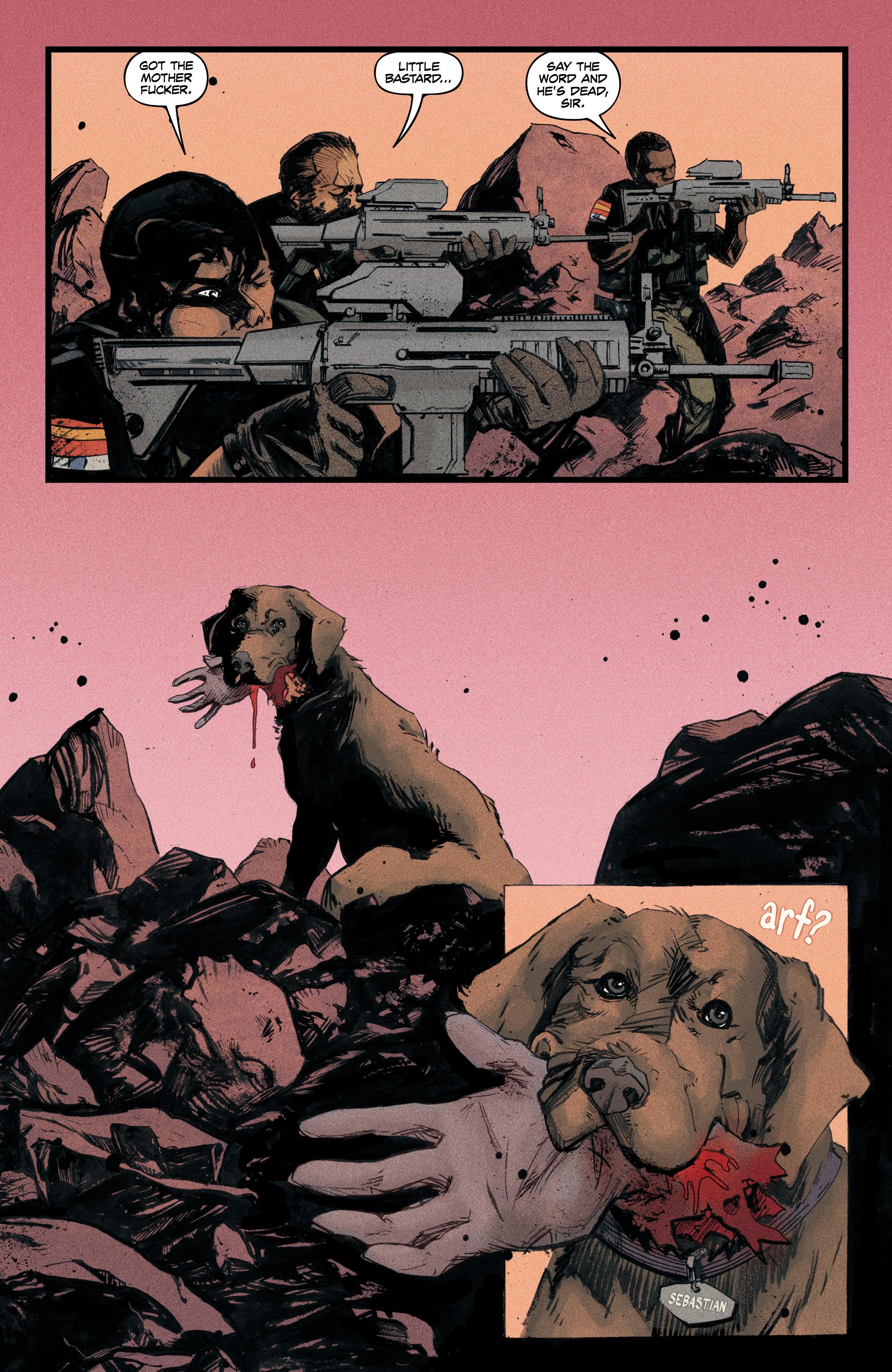 Read online Redline comic -  Issue #4 - 4