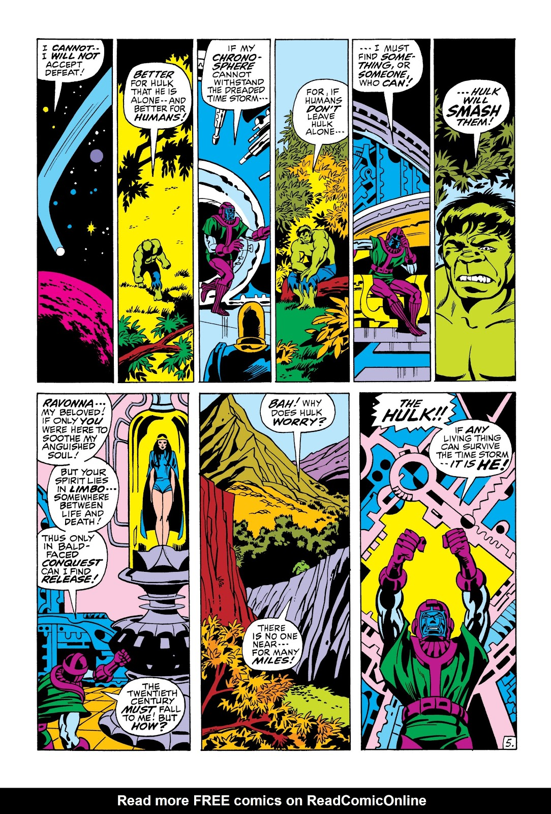 Read online Marvel Masterworks: The Incredible Hulk comic -  Issue # TPB 7 (Part 1) - 12