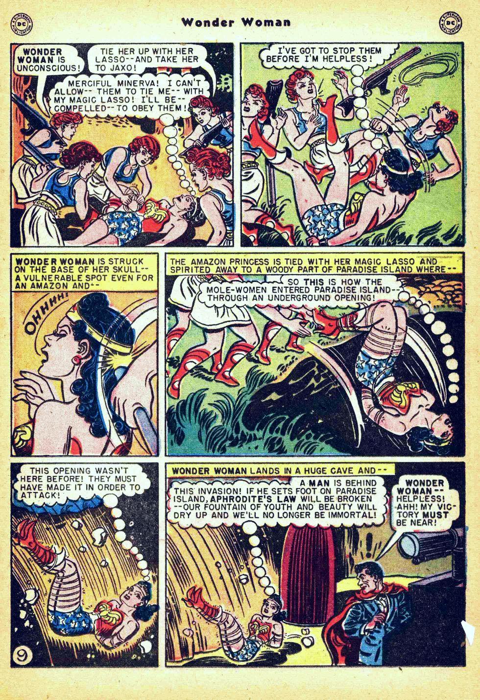 Read online Wonder Woman (1942) comic -  Issue #35 - 25