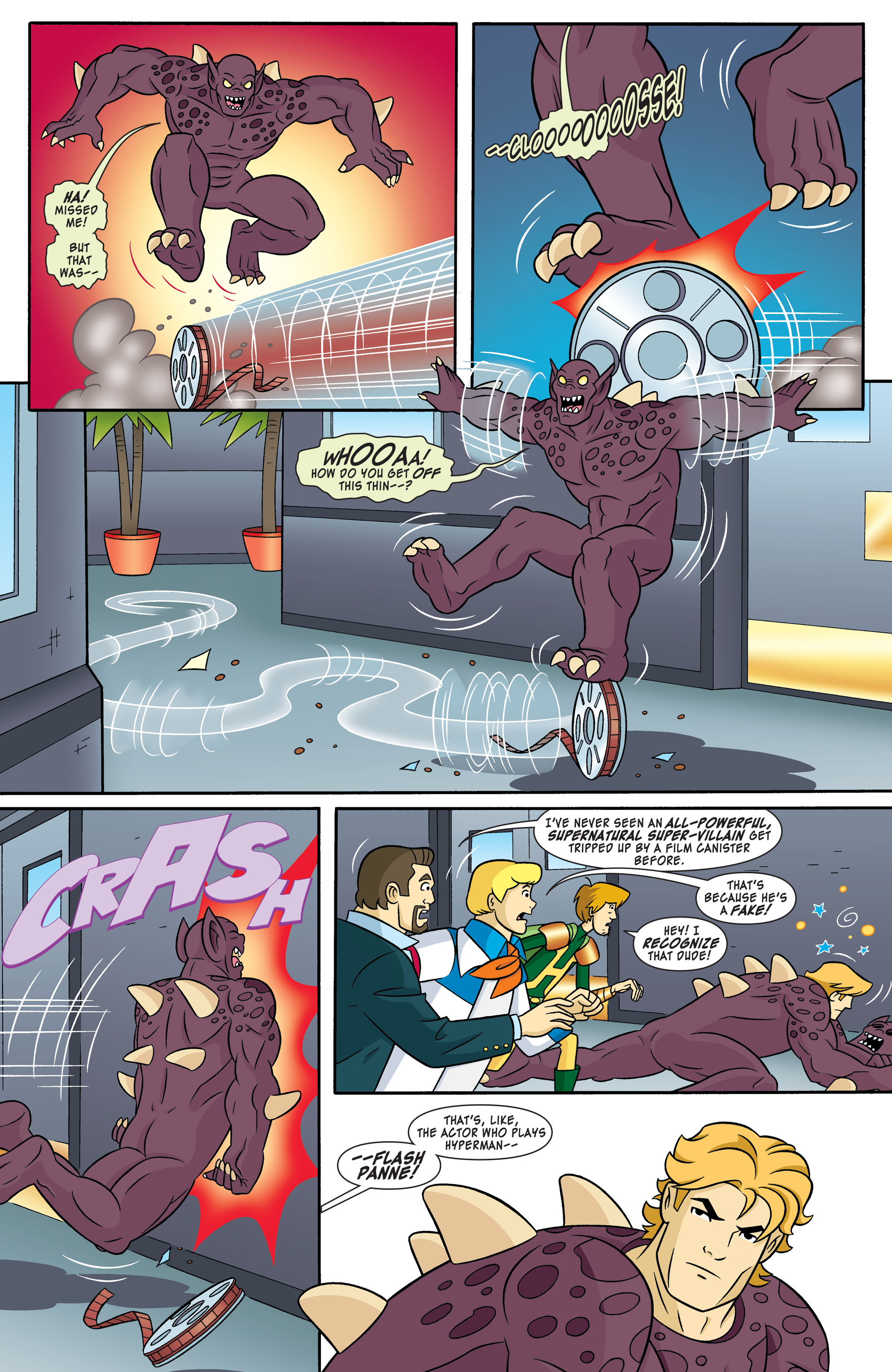 Read online Scooby-Doo: Where Are You? comic -  Issue #55 - 10