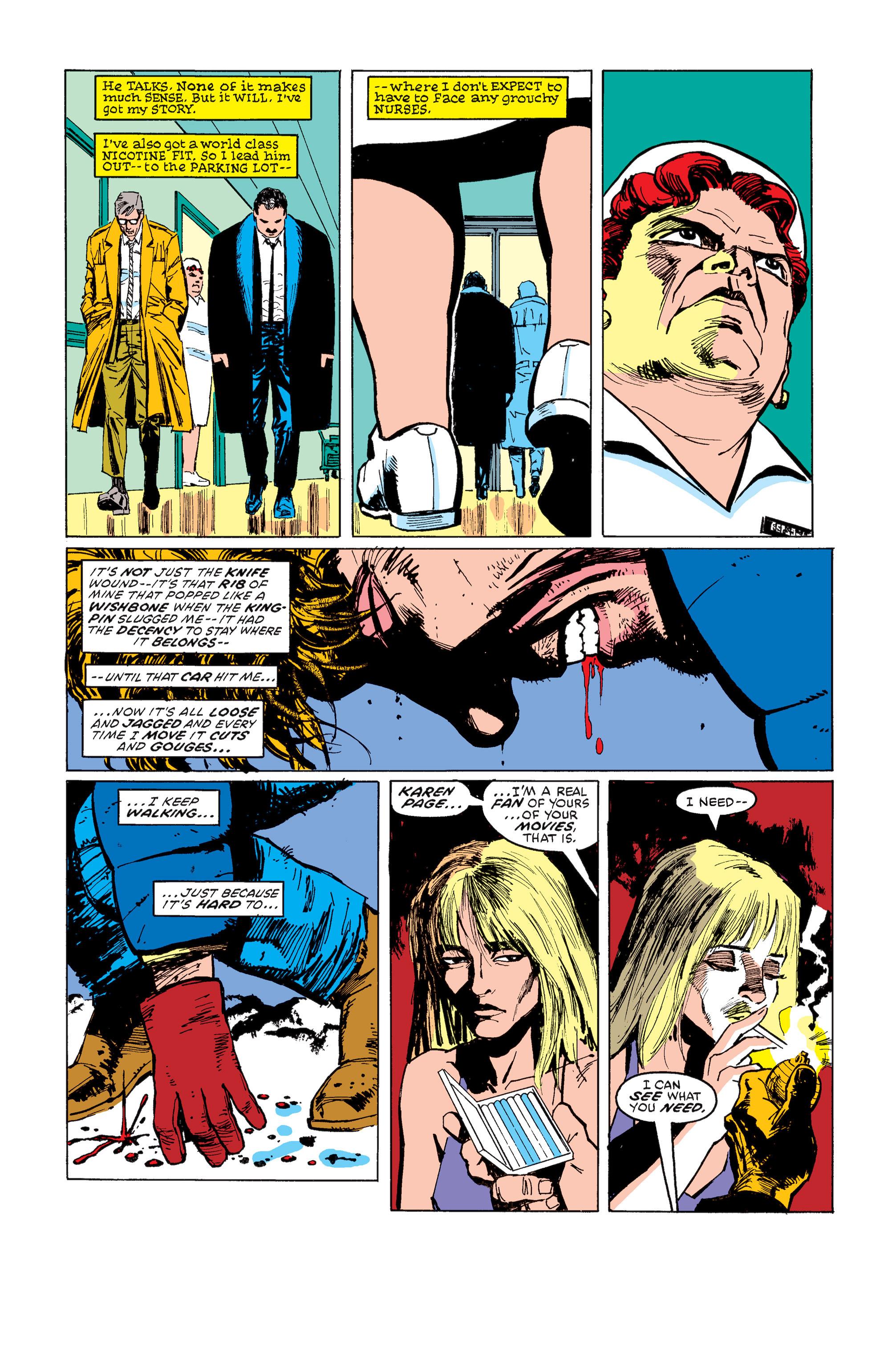 Read online Daredevil: Born Again comic -  Issue # Full - 91