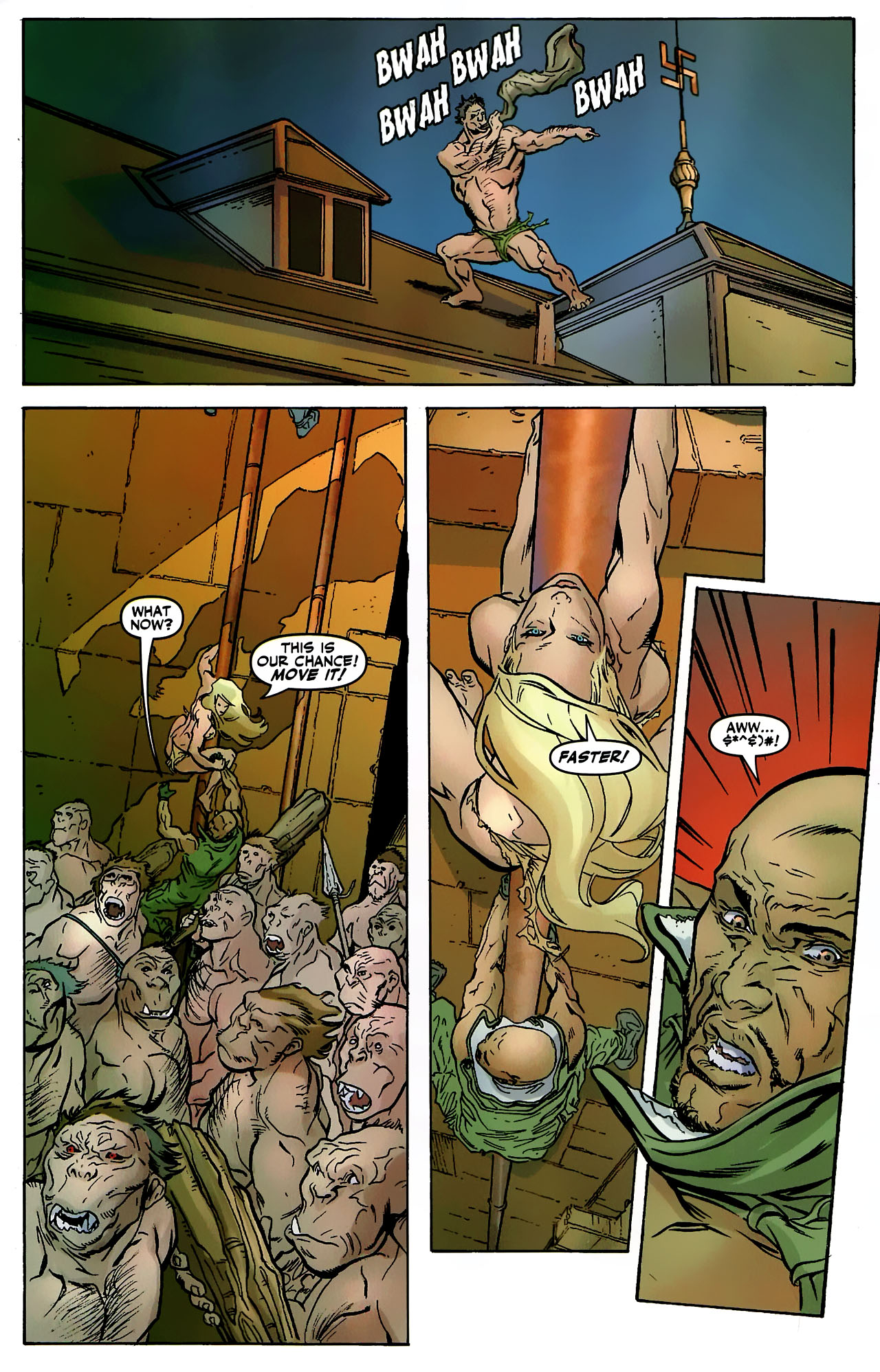 Read online Shanna the She-Devil: Survival of the Fittest comic -  Issue #3 - 15