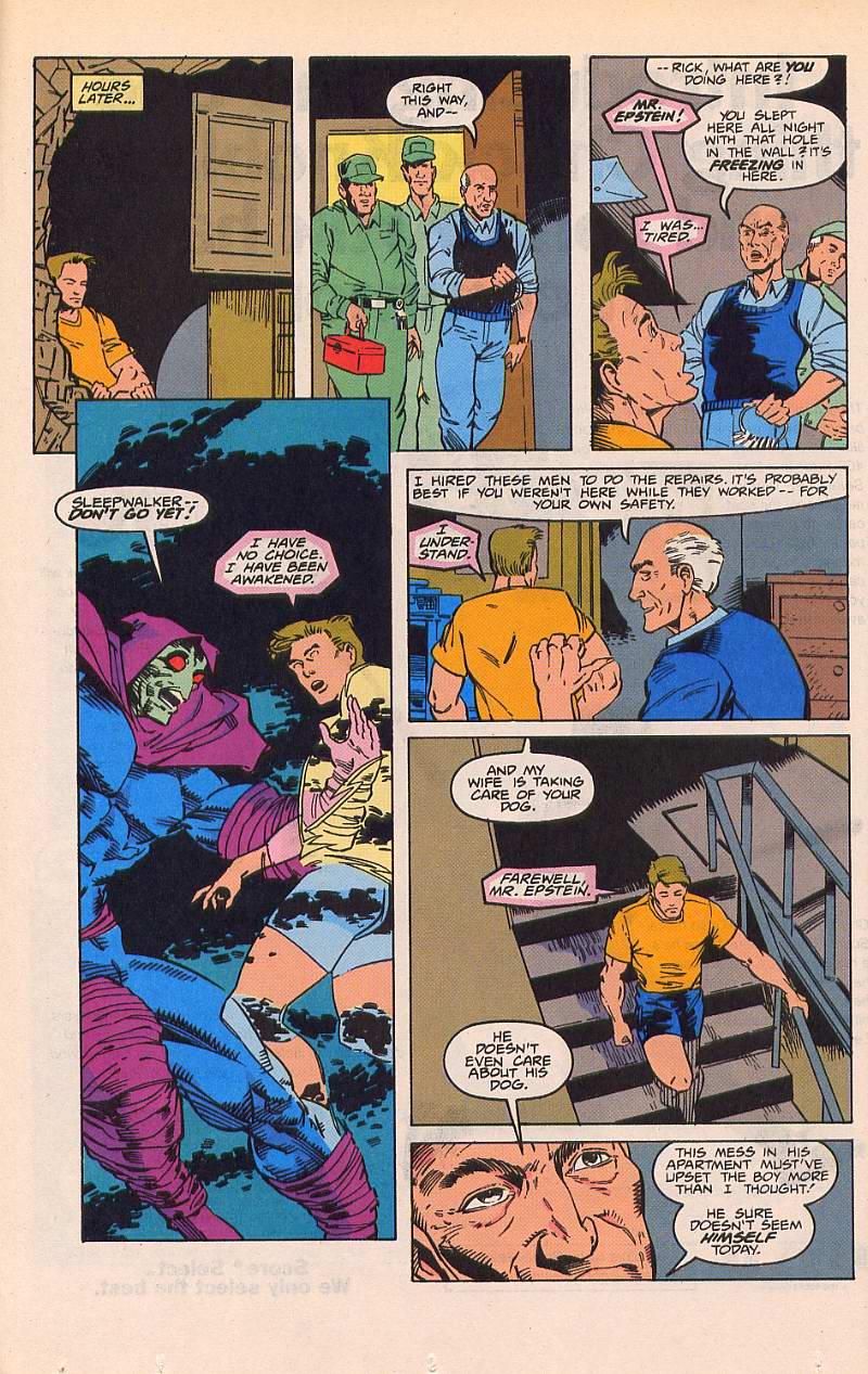 Read online Sleepwalker comic -  Issue #21 - 10