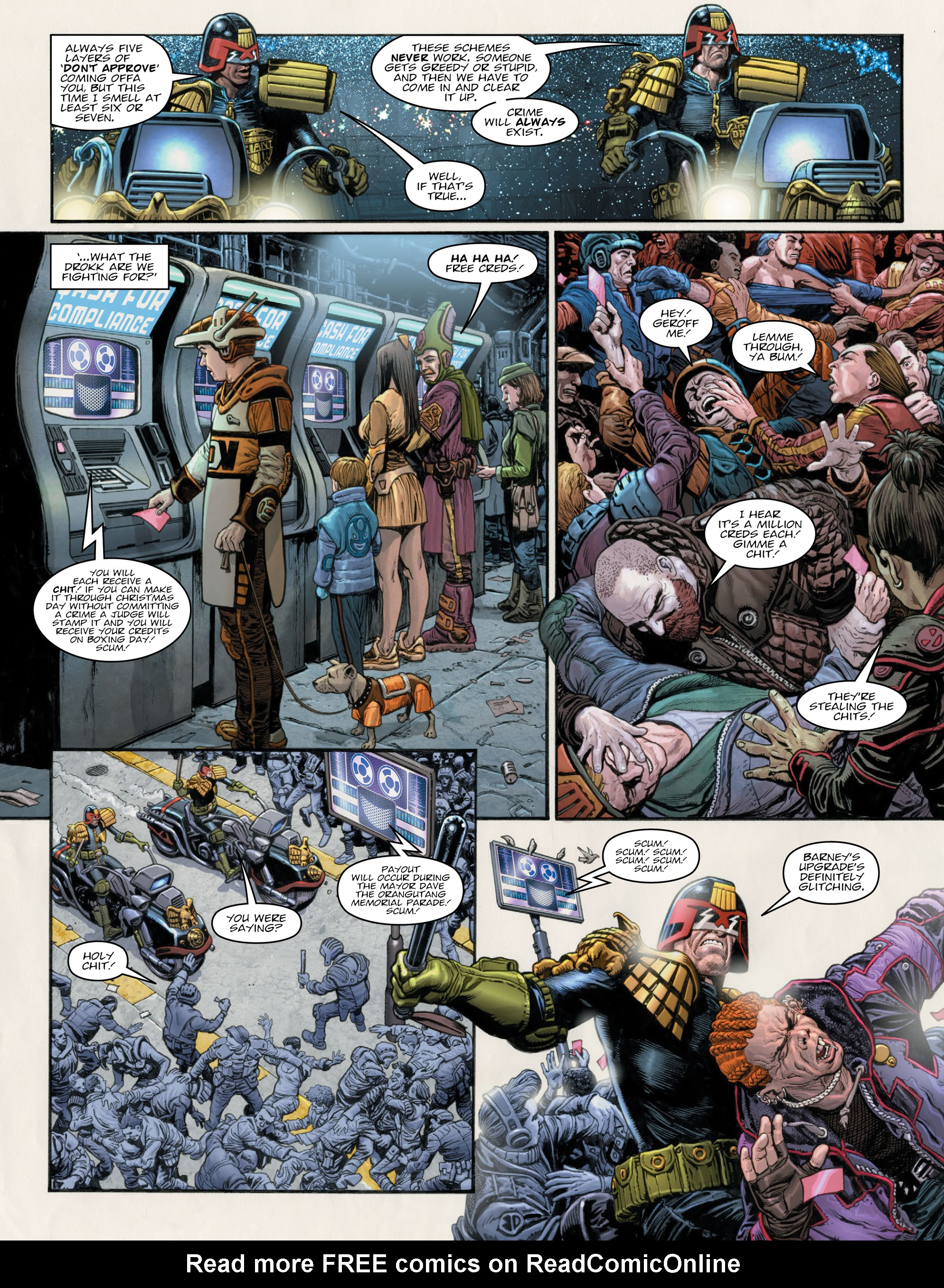Read online 2000 AD comic -  Issue #2011 - 7