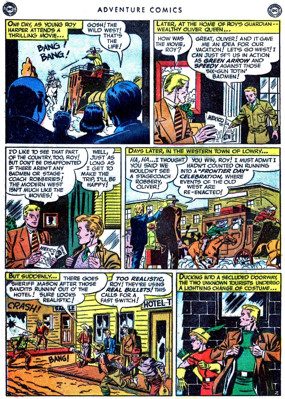 Read online Adventure Comics (1938) comic -  Issue #163 - 40