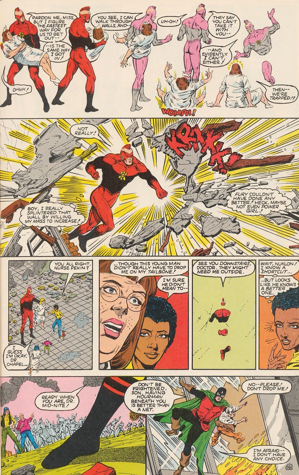 Infinity Inc. (1984) issue 20 - Page 21