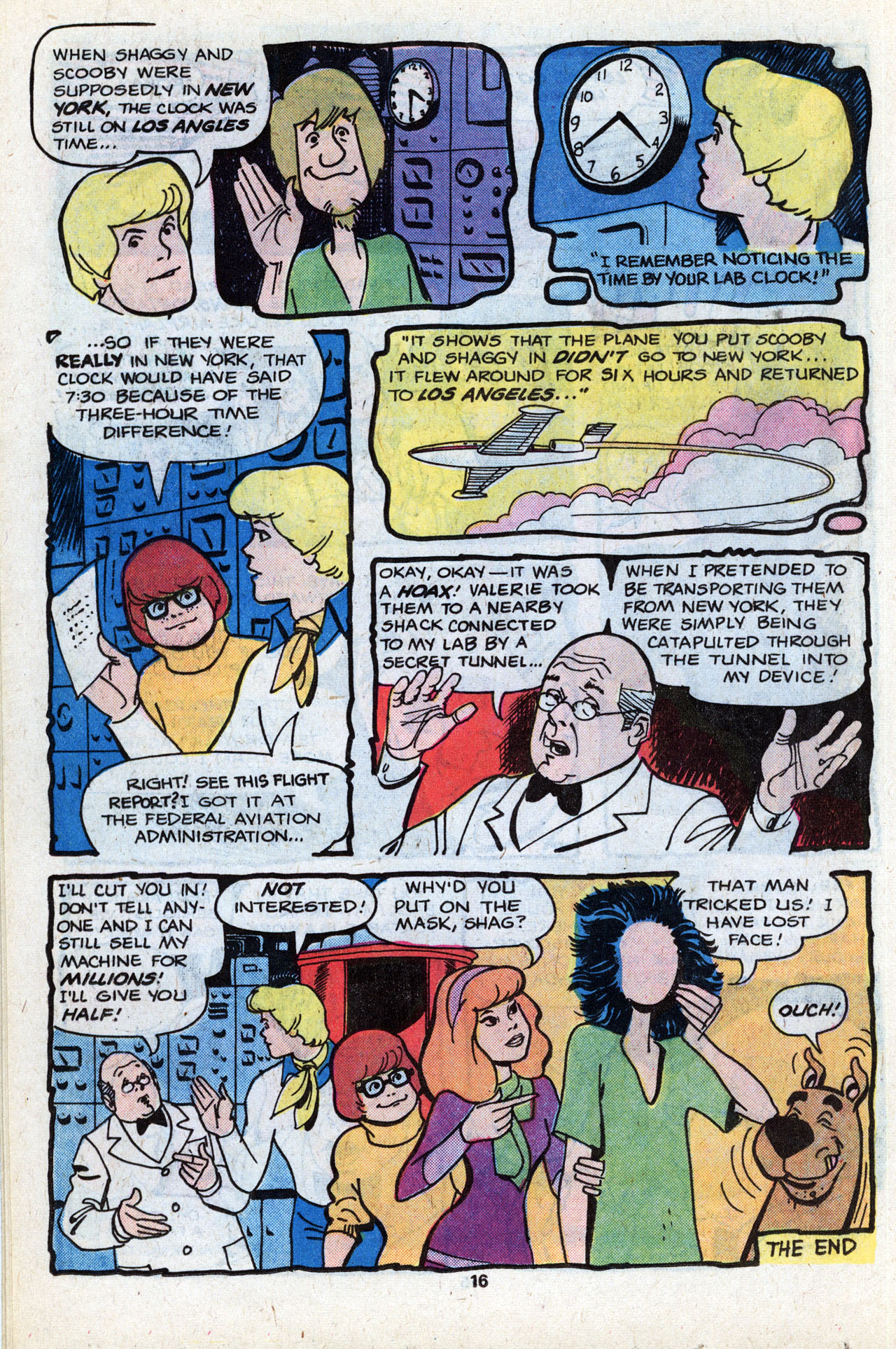Read online Scooby-Doo (1977) comic -  Issue #7 - 18
