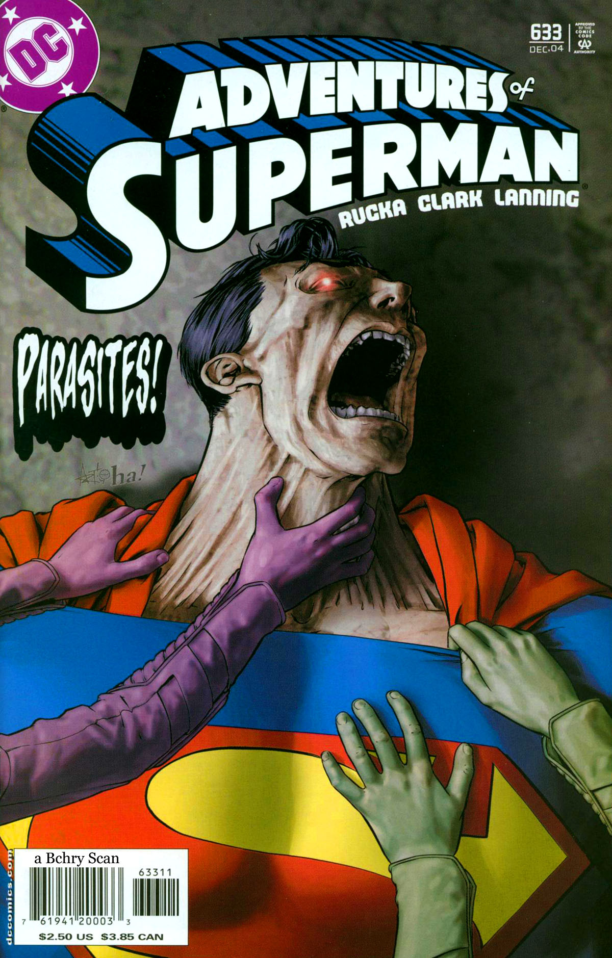 Read online Adventures of Superman (1987) comic -  Issue #633 - 1