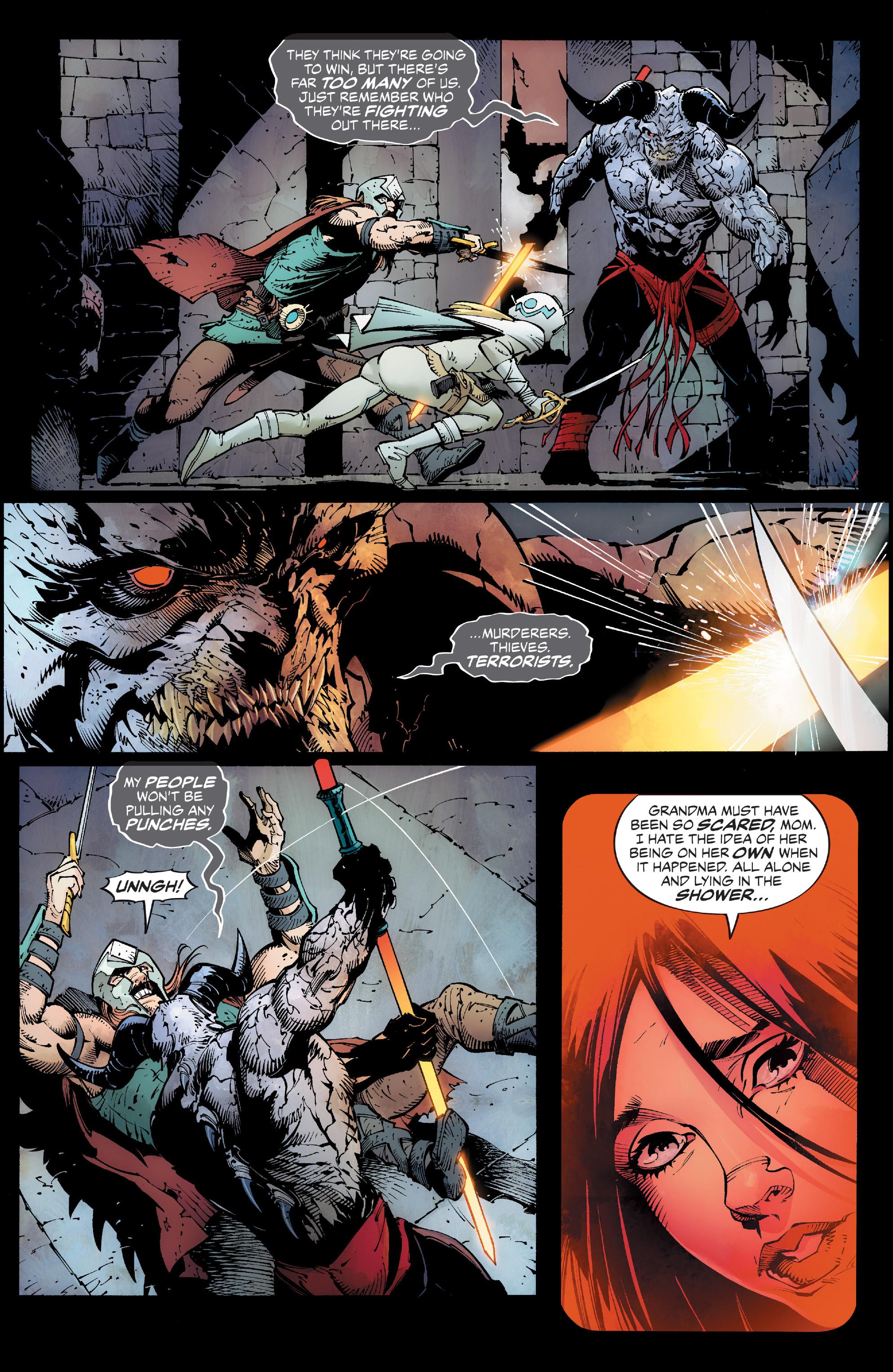 Read online Reborn comic -  Issue #6 - 17