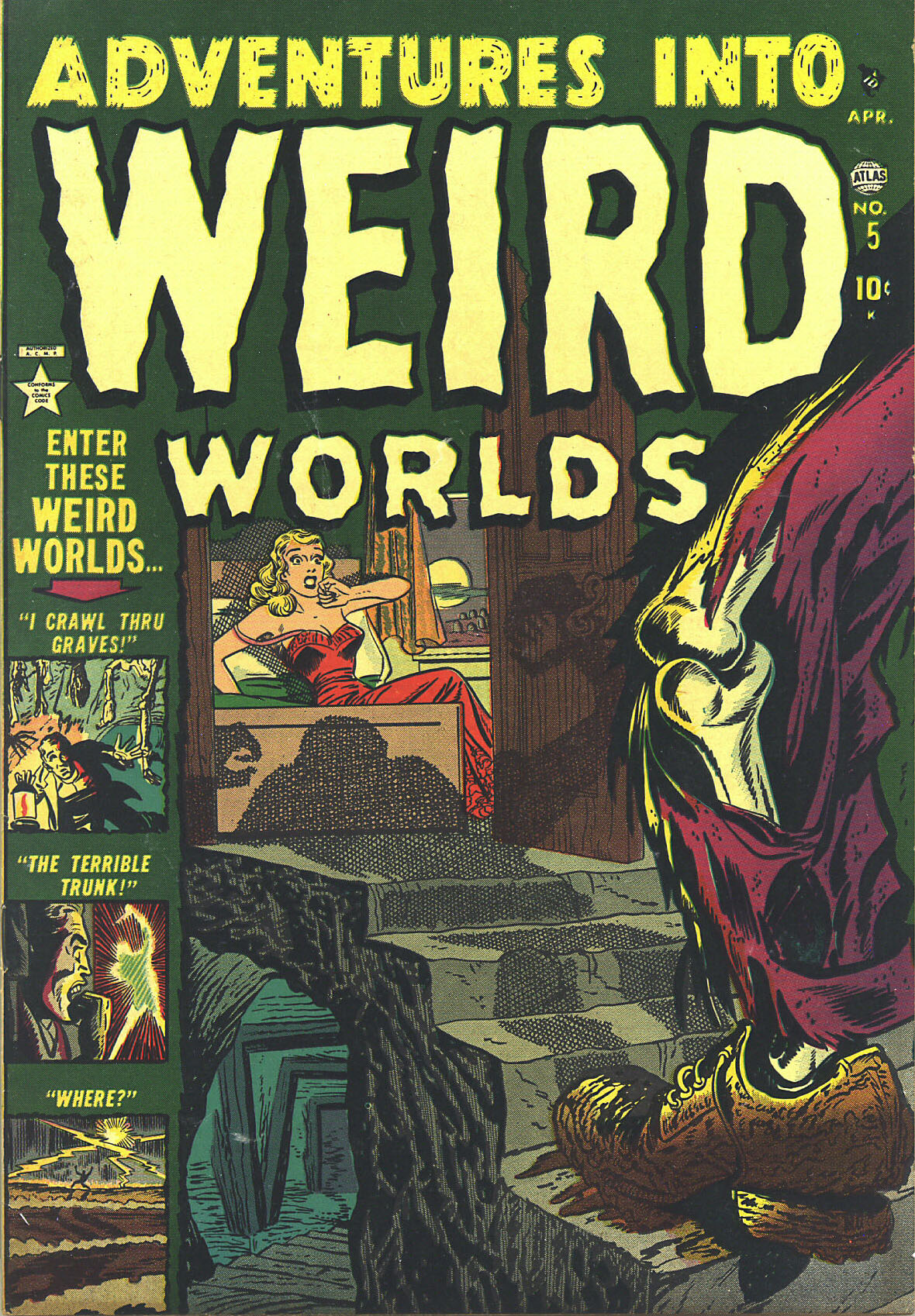 Read online Adventures into Weird Worlds comic -  Issue #5 - 1