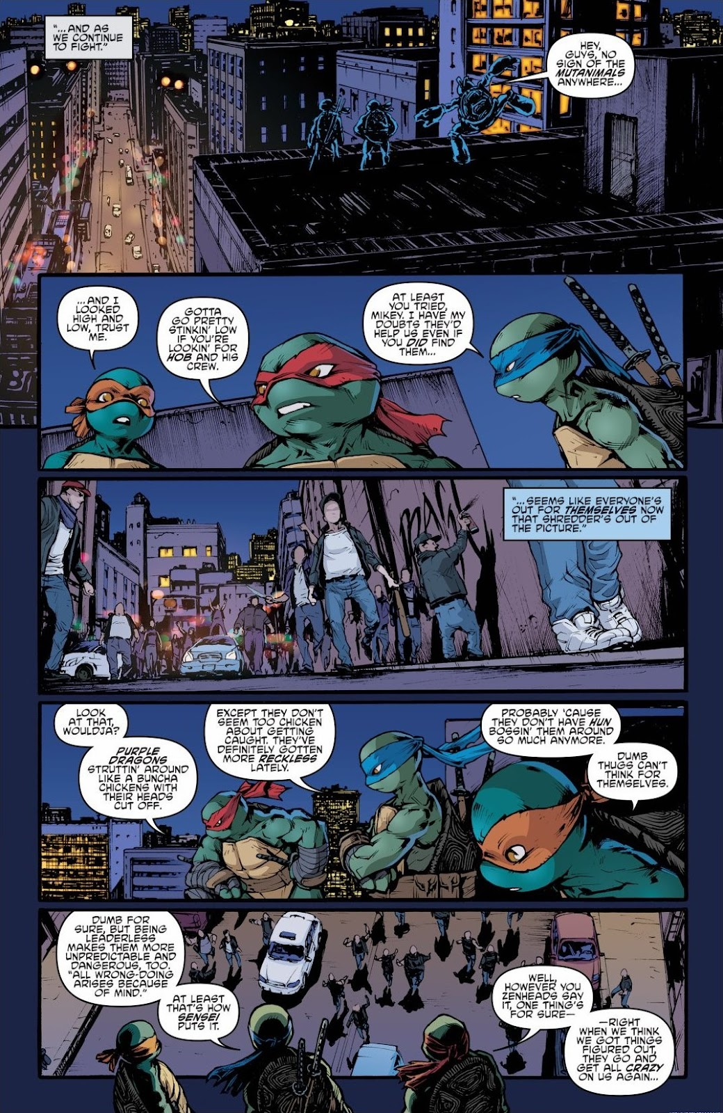 Read online Teenage Mutant Ninja Turtles: The IDW Collection comic -  Issue # TPB 6 (Part 2) - 53