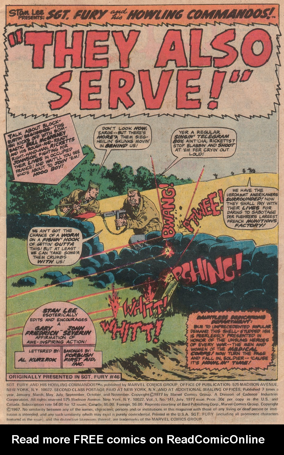 Read online Sgt. Fury comic -  Issue #141 - 3