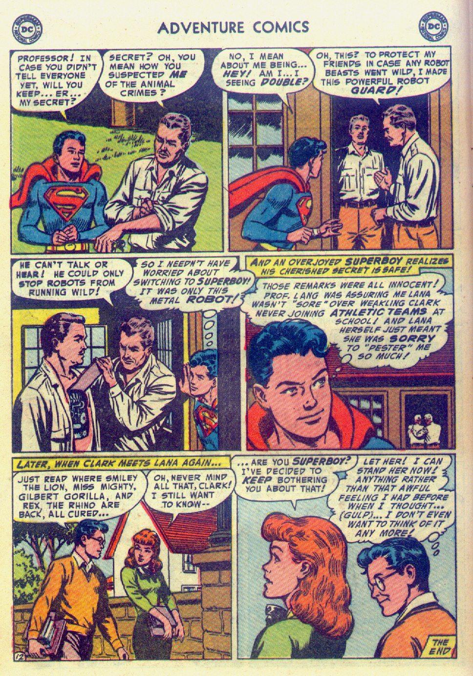 Read online Adventure Comics (1938) comic -  Issue #201 - 14